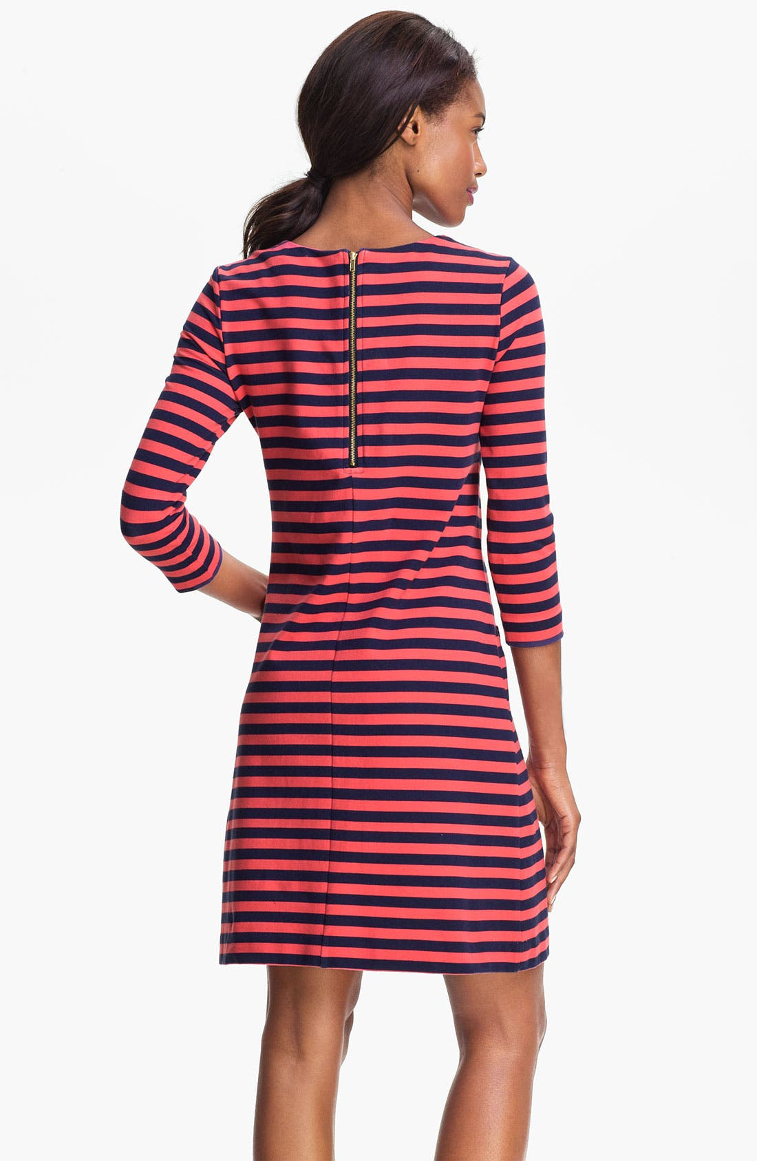 Alternate Image 2  - Lilly Pulitzer® 'Charlene' Stripe Knit Shift Dress