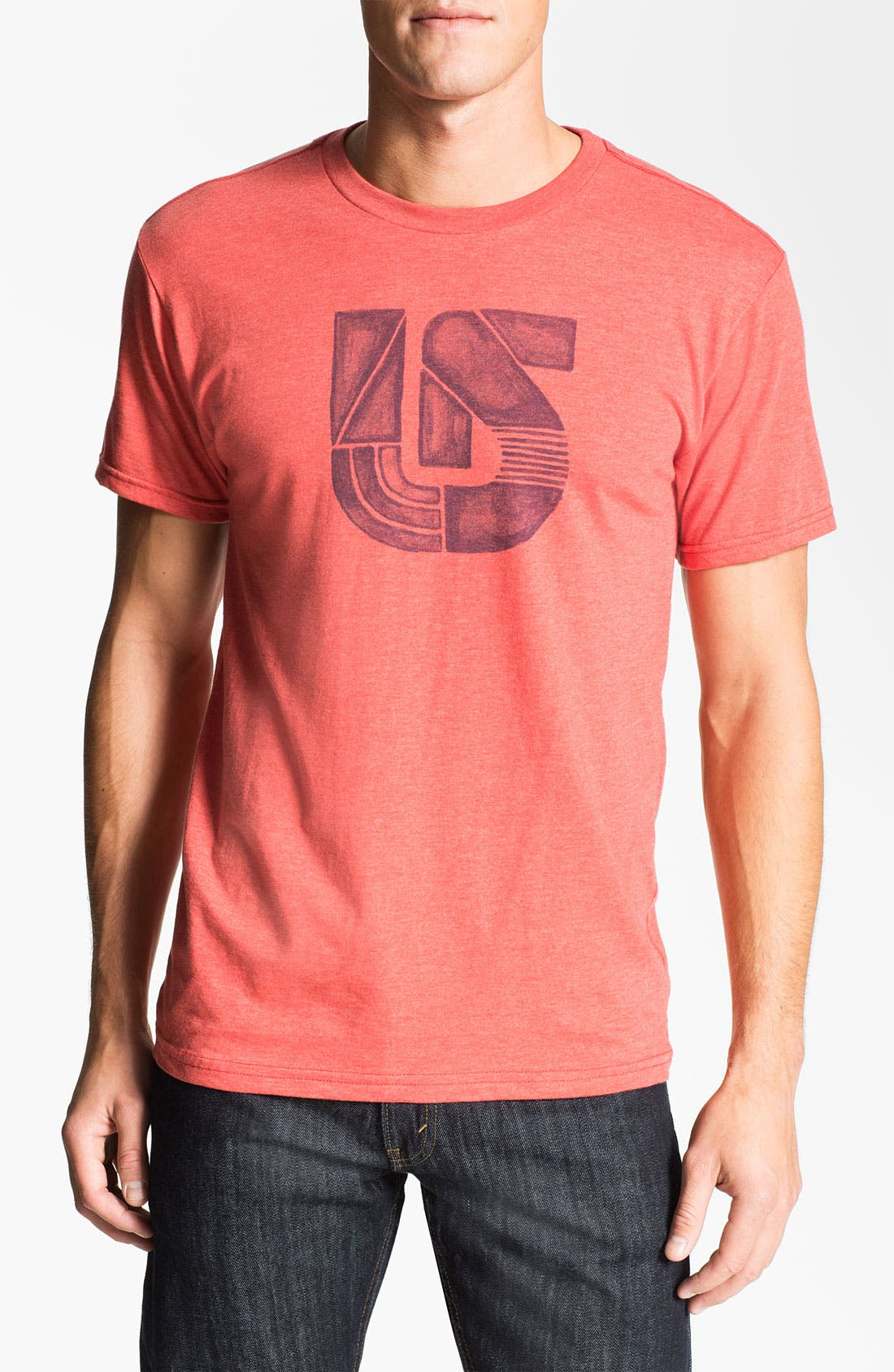 Alternate Image 1 Selected - Burton 'Painted Process' Graphic T-Shirt