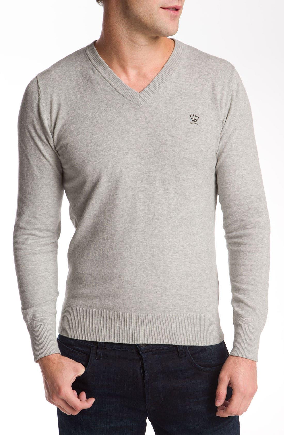 Main Image - DIESEL® 'K-Meceneo' V-Neck Sweater