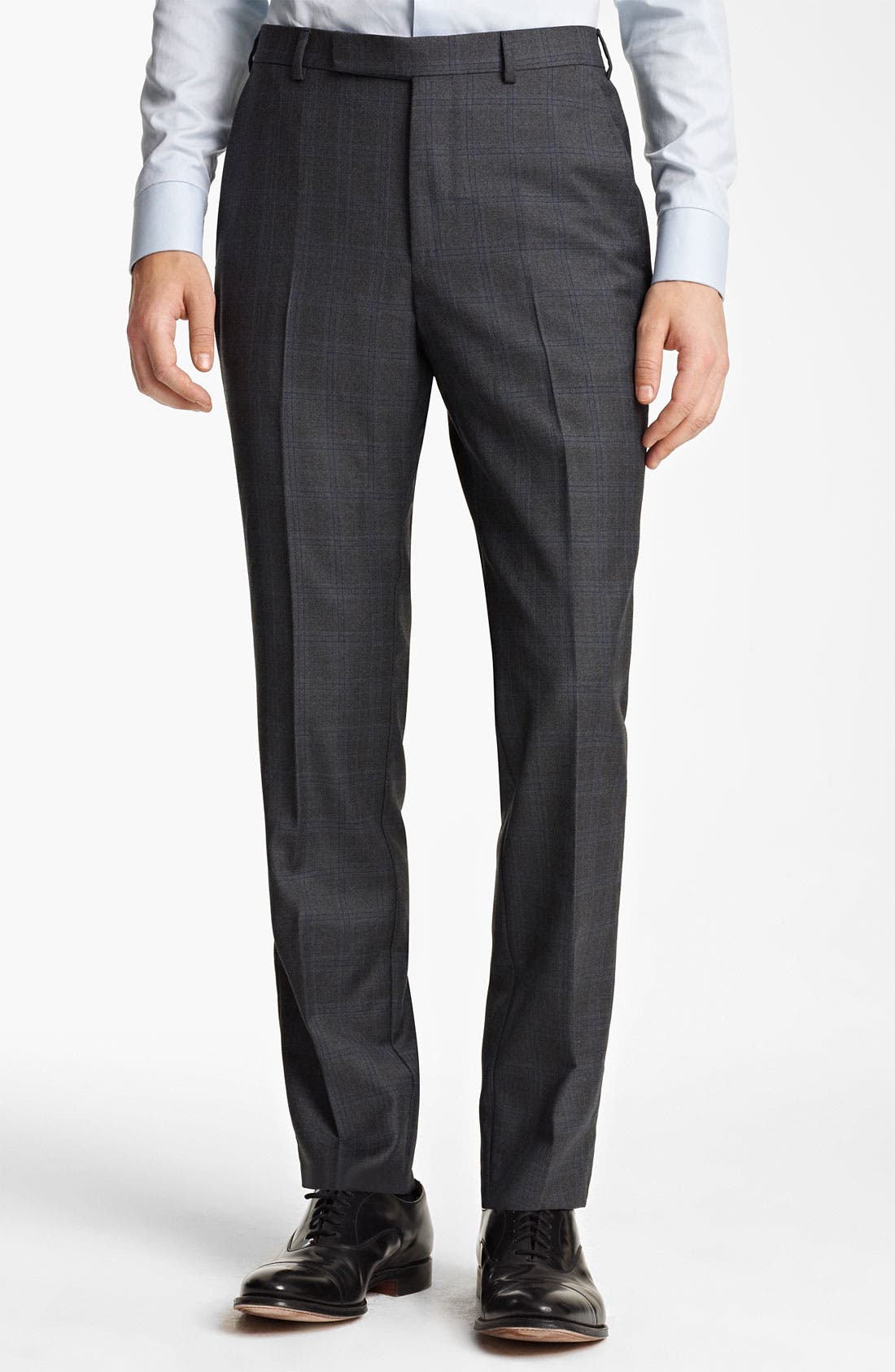 Alternate Image 4  - Z Zegna Trim Fit Check Wool Suit
