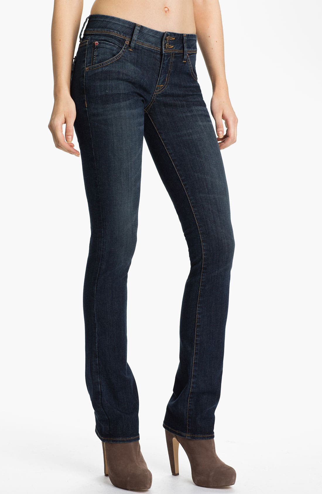 Alternate Image 1 Selected - Hudson Jeans 'Beth' Baby Bootcut Jeans (Bethnal)
