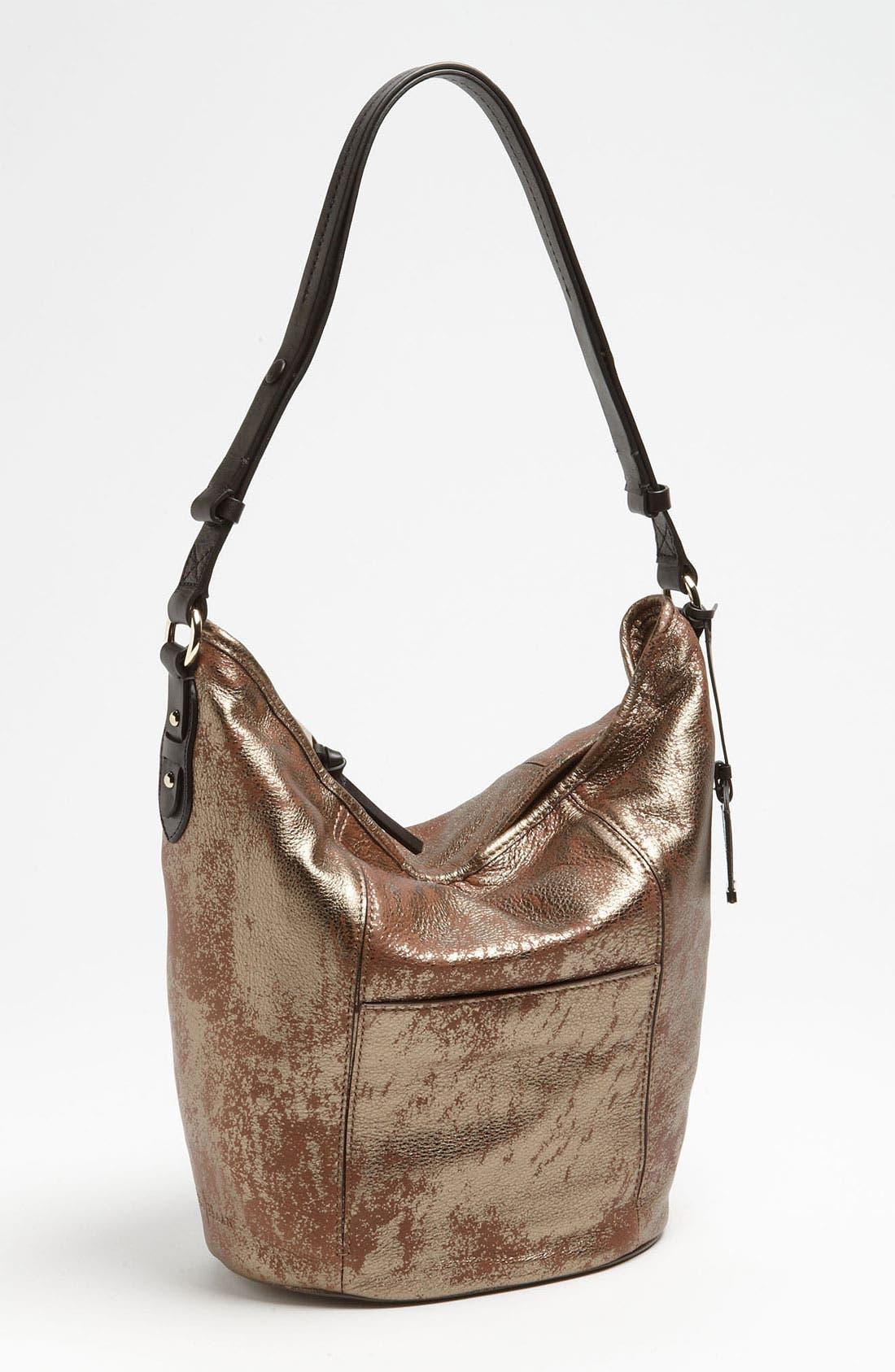 Alternate Image 1 Selected - Cole Haan 'Crosby - Medallion Metallic' Bucket Bag