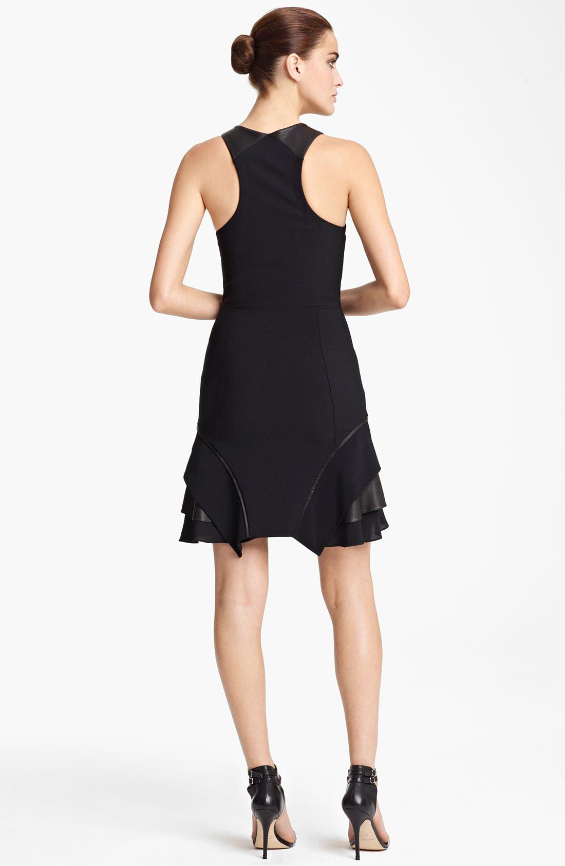 Alternate Image 2  - Yigal Azrouël Crepe & Jersey Dress