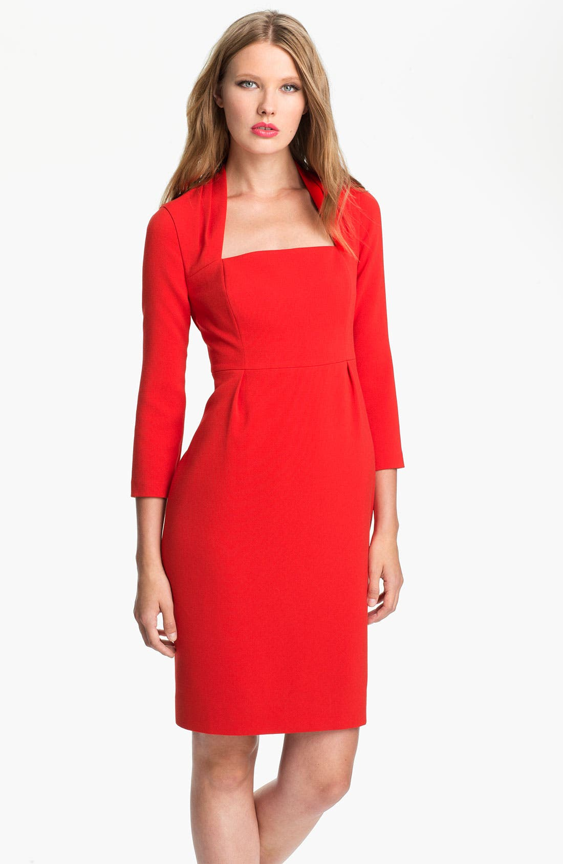 Main Image - kate spade new york 'shiella' woven sheath dress