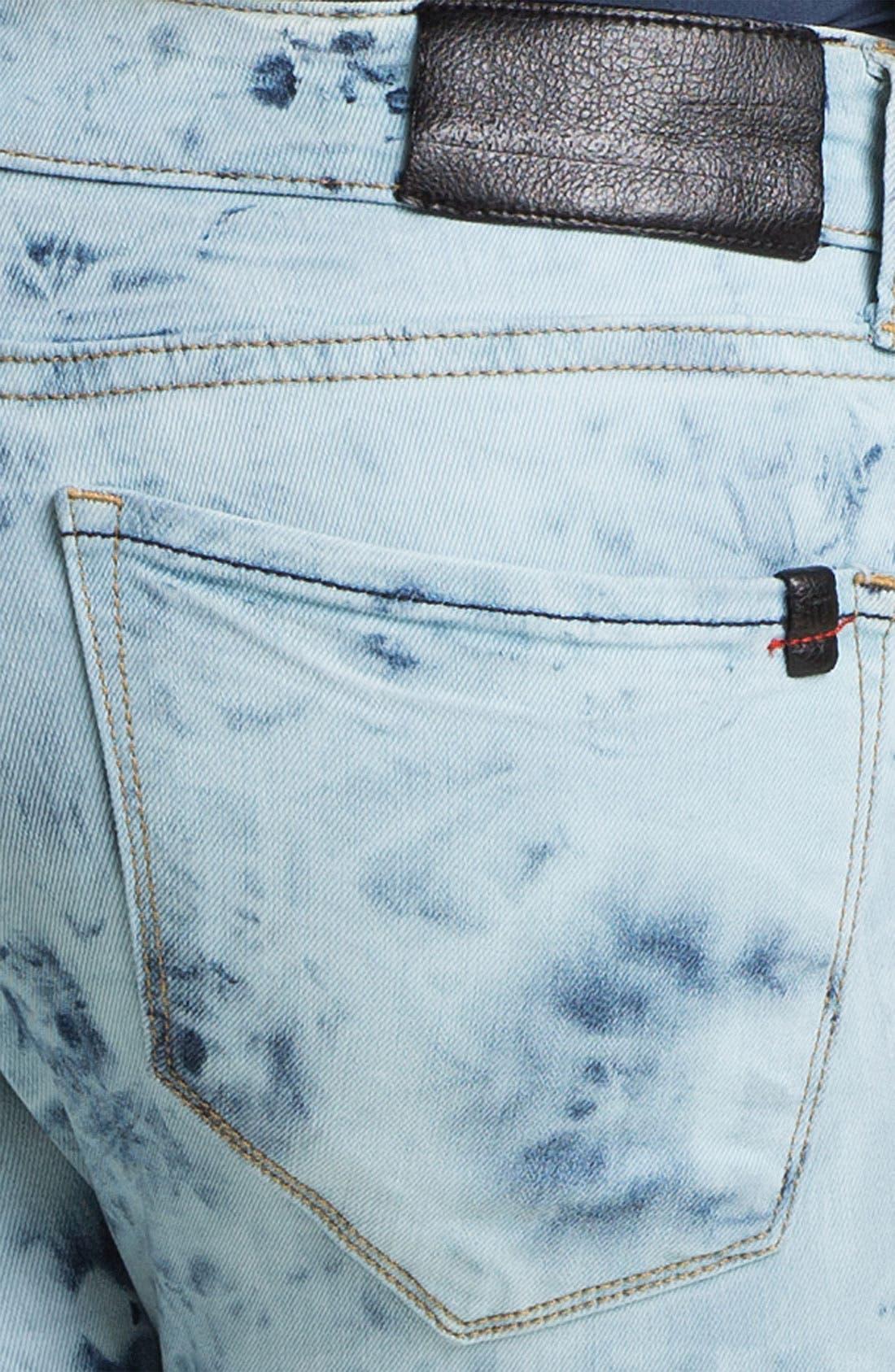 Alternate Image 3  - !iT Collective Tie Dye Skinny Jeans (Activist) (Online Exclusive)