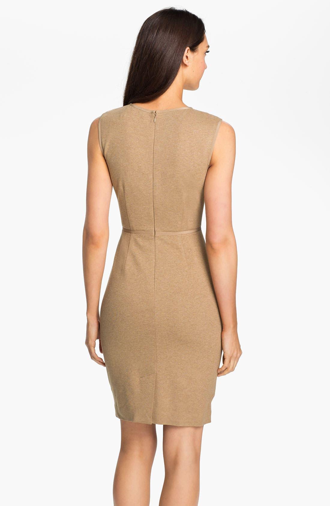 Alternate Image 2  - Trina Turk 'Myrna' Knit Sheath Dress
