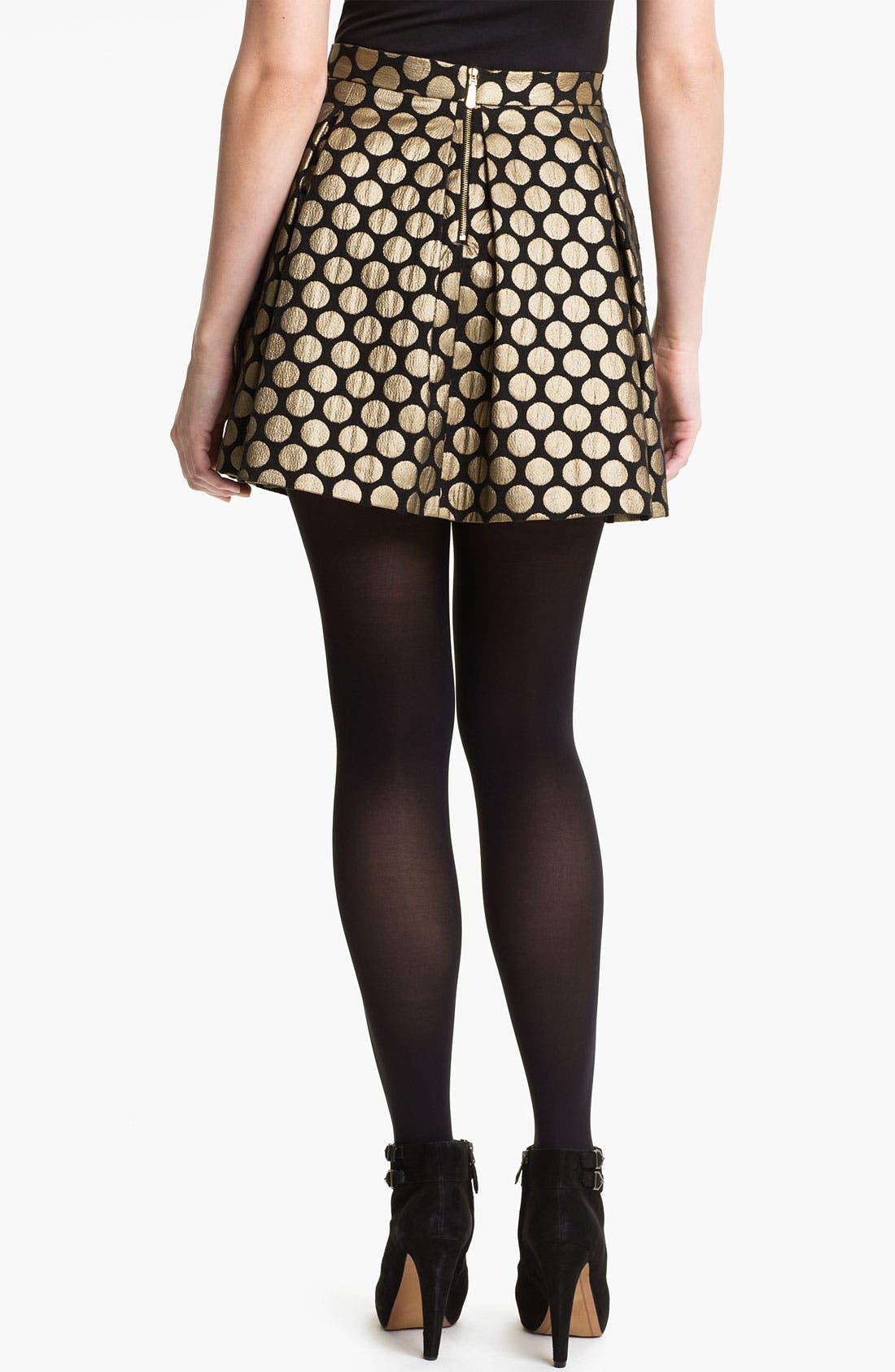 Alternate Image 2  - Vince Camuto Dotted Jacquard Skirt
