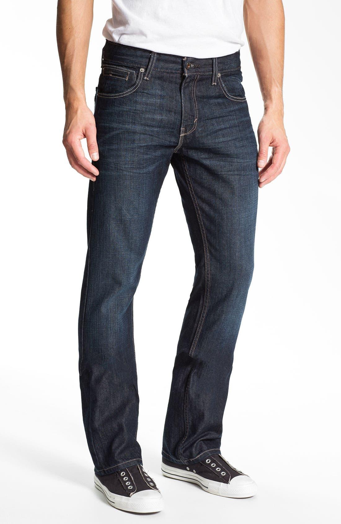 Alternate Image 2  - Levi's® '527™' Slim Bootcut Jeans (Midnight Train)