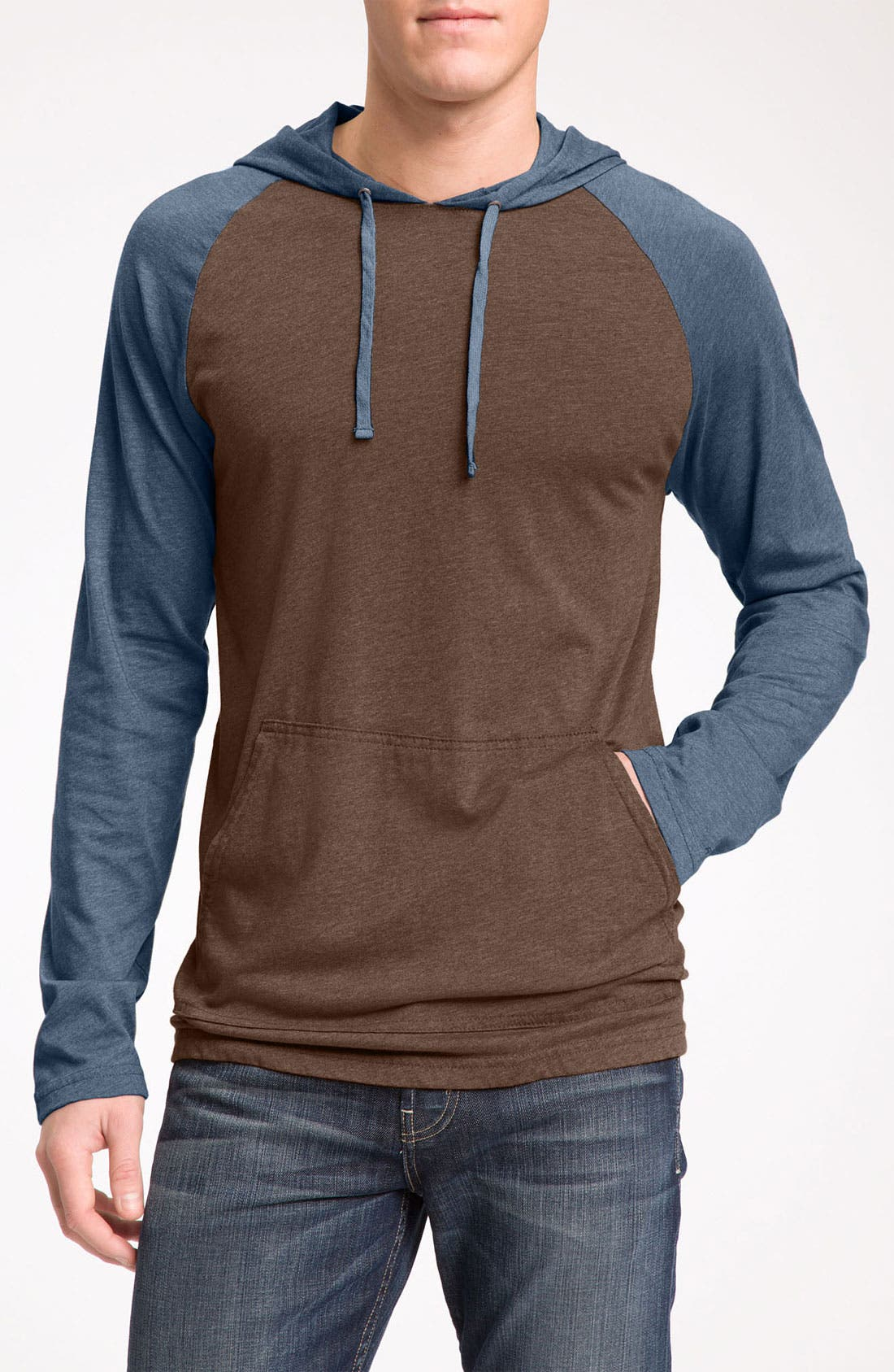 Alternate Image 1 Selected - RVCA 'Castro' Pullover Hoodie