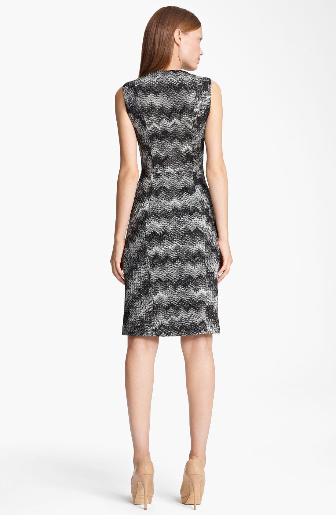 Alternate Image 2  - Missoni Snake Stitch Faux Wrap Dress