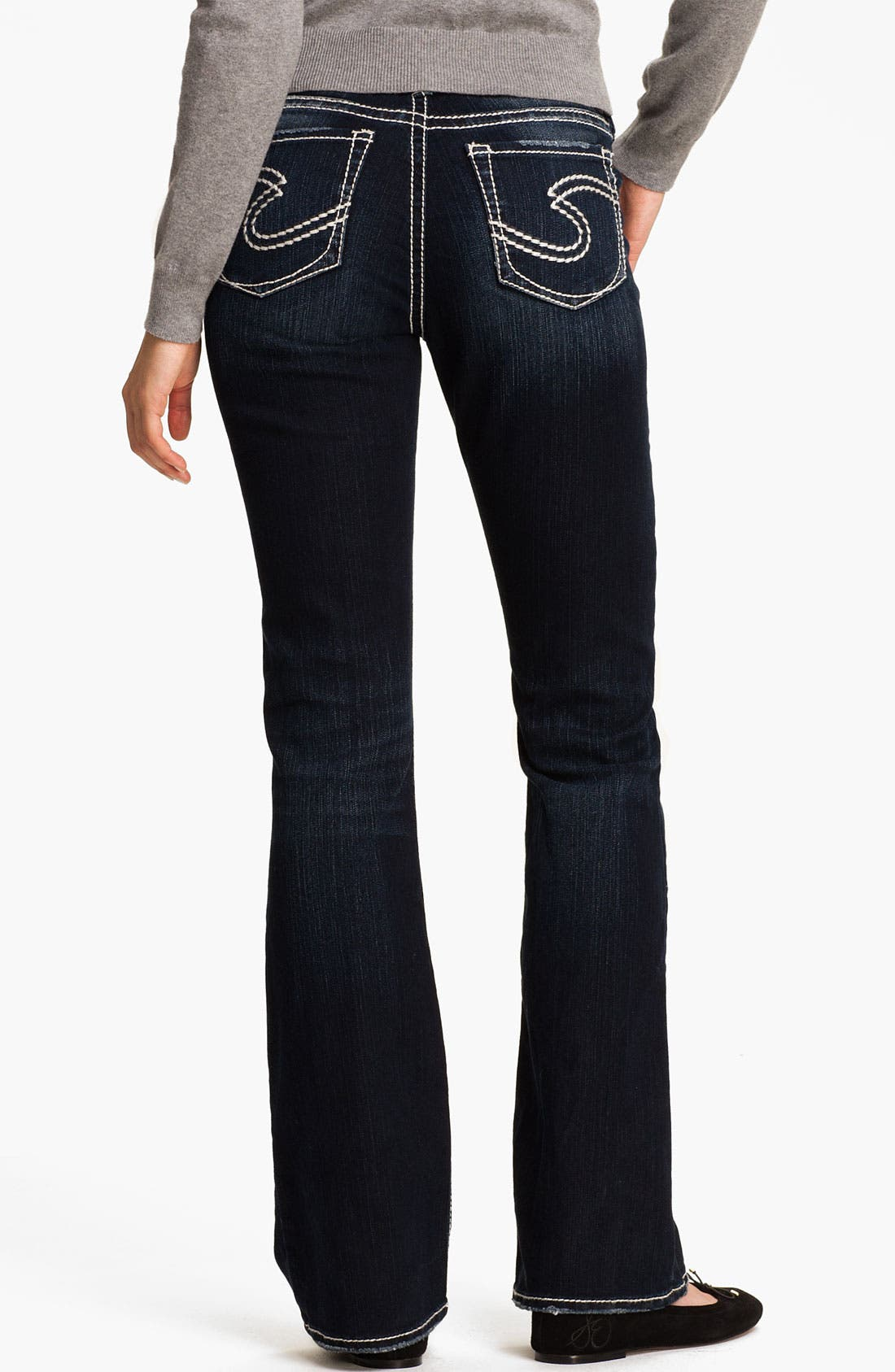 Alternate Image 1 Selected - Silver Jeans Co. 'Natsuki' Bootcut Jeans (Juniors)