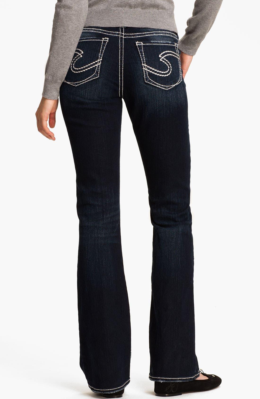 Main Image - Silver Jeans Co. 'Natsuki' Bootcut Jeans (Juniors)