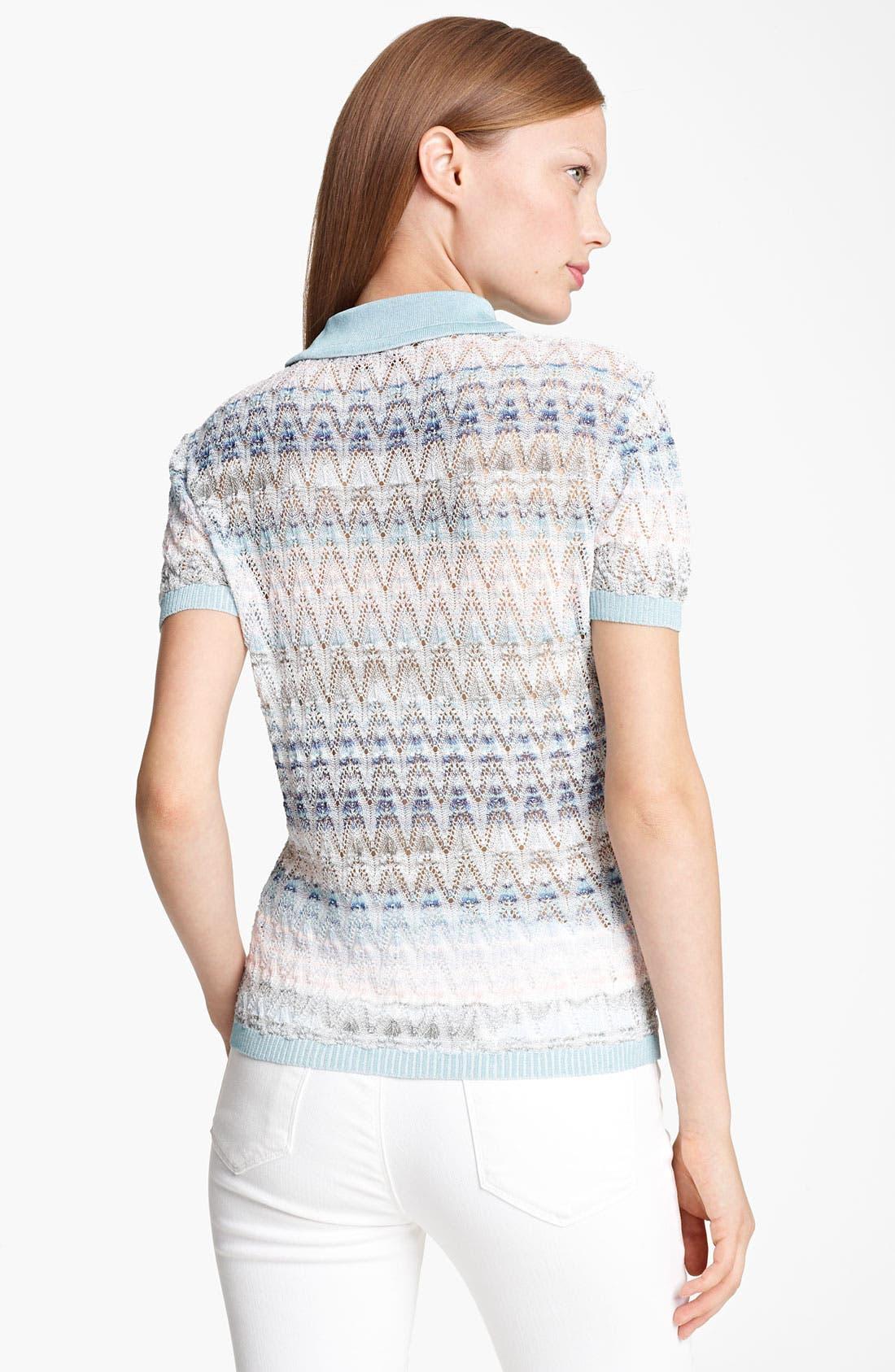 Alternate Image 2  - Missoni Short Sleeve Polo