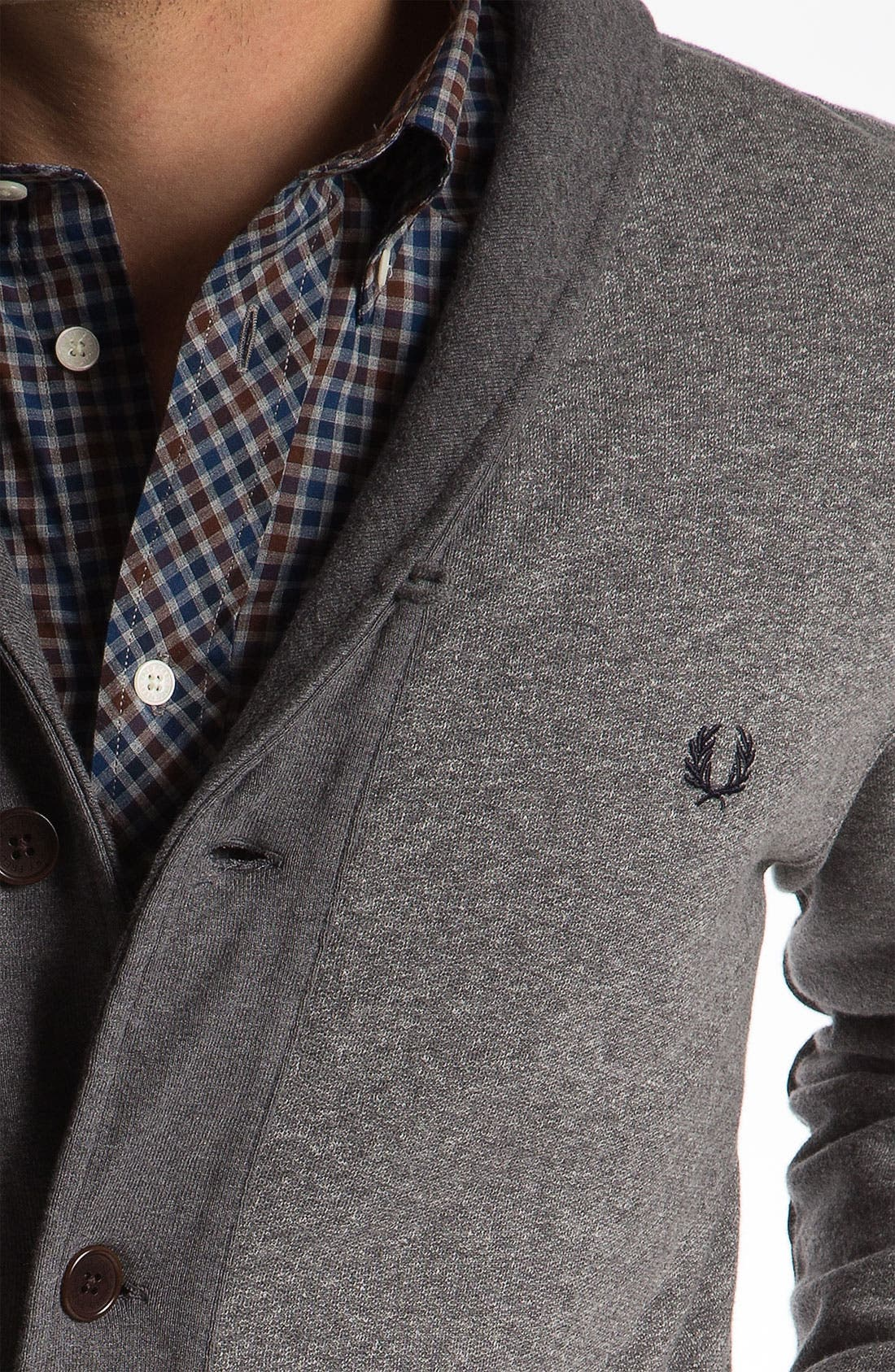 Alternate Image 3  - Fred Perry Shawl Collar Cardigan
