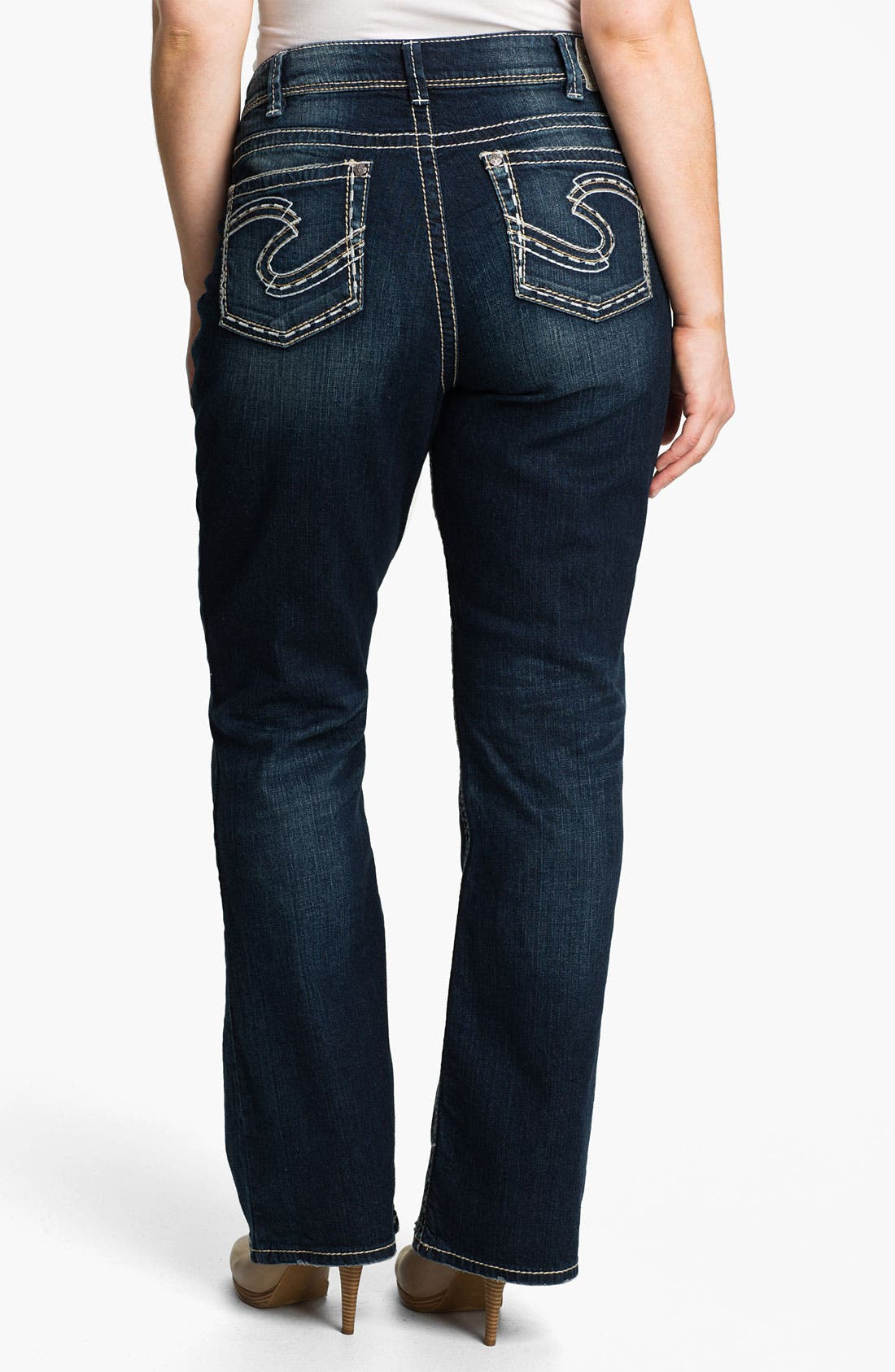 Alternate Image 2  - Silver Jeans Co. 'Suki' Bootcut Jeans (Plus)