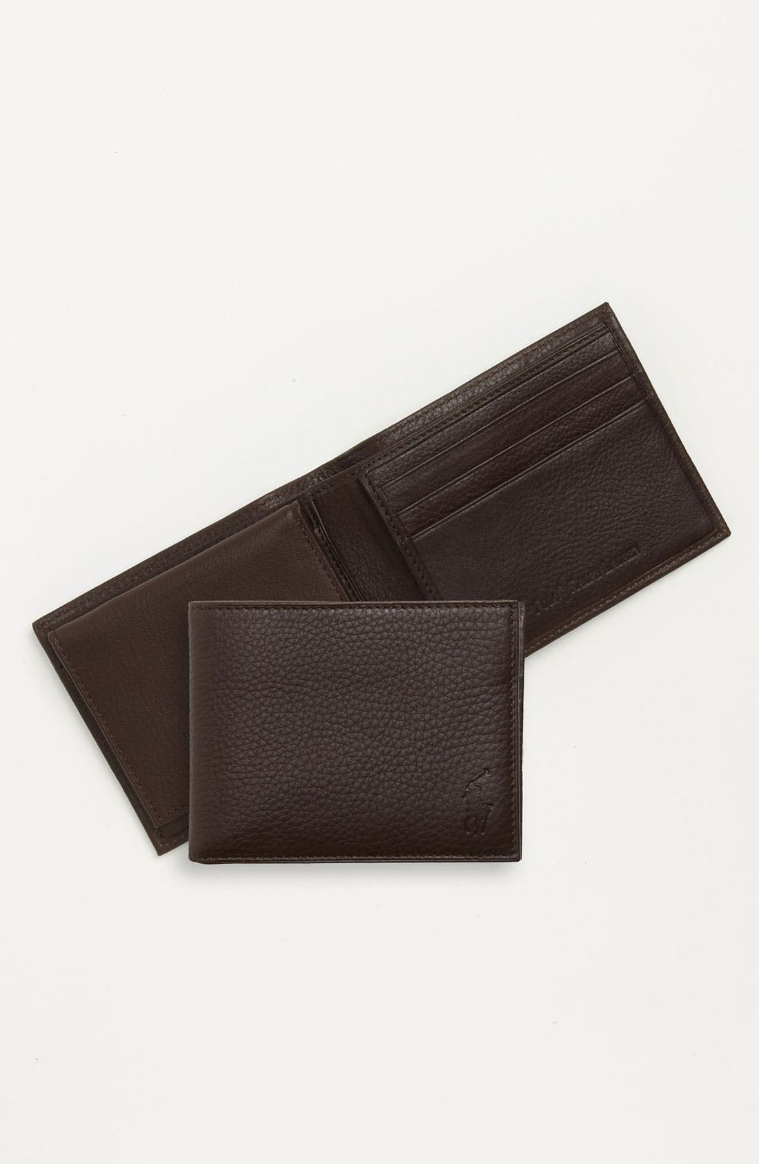 Alternate Image 3  - Polo Ralph Lauren Leather Passcase Wallet