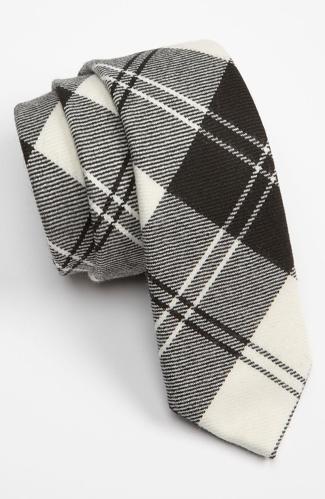 Alternate Image 1 Selected - David Hart Woven Wool Tie