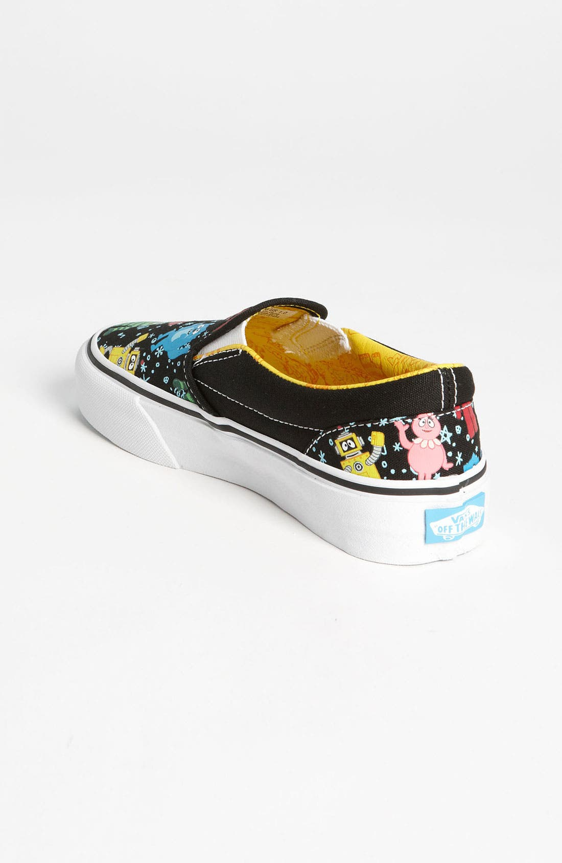 Alternate Image 2  - Vans 'Classic - Yo Gabba Gabba™!' Slip-On Sneaker (Toddler, Little Kid & Big Kid)