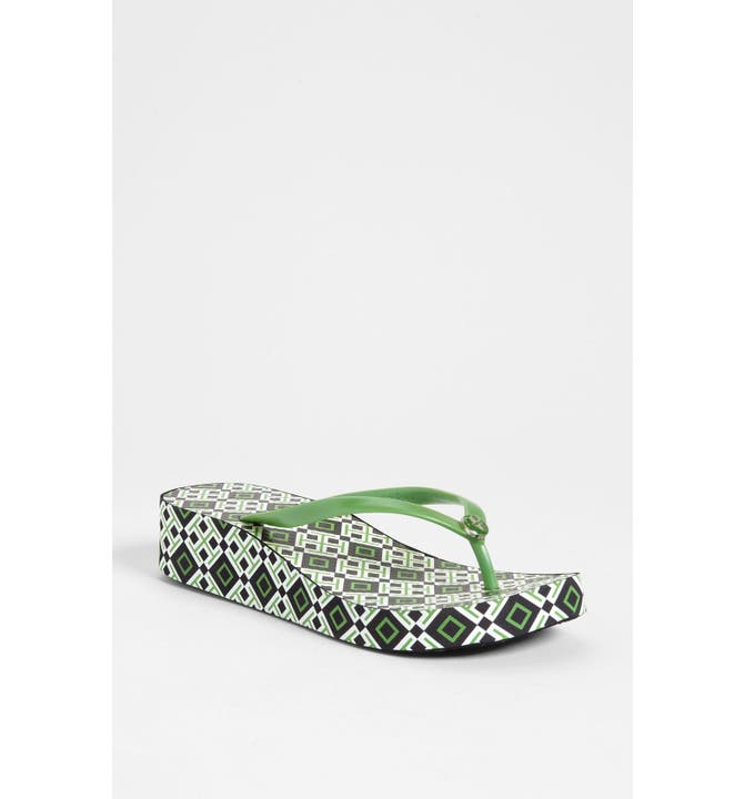 Main Image - Tory Burch 'Thandie' Wedge Flip Flop - Tory Burch 'Thandie' Wedge Flip Flop Nordstrom