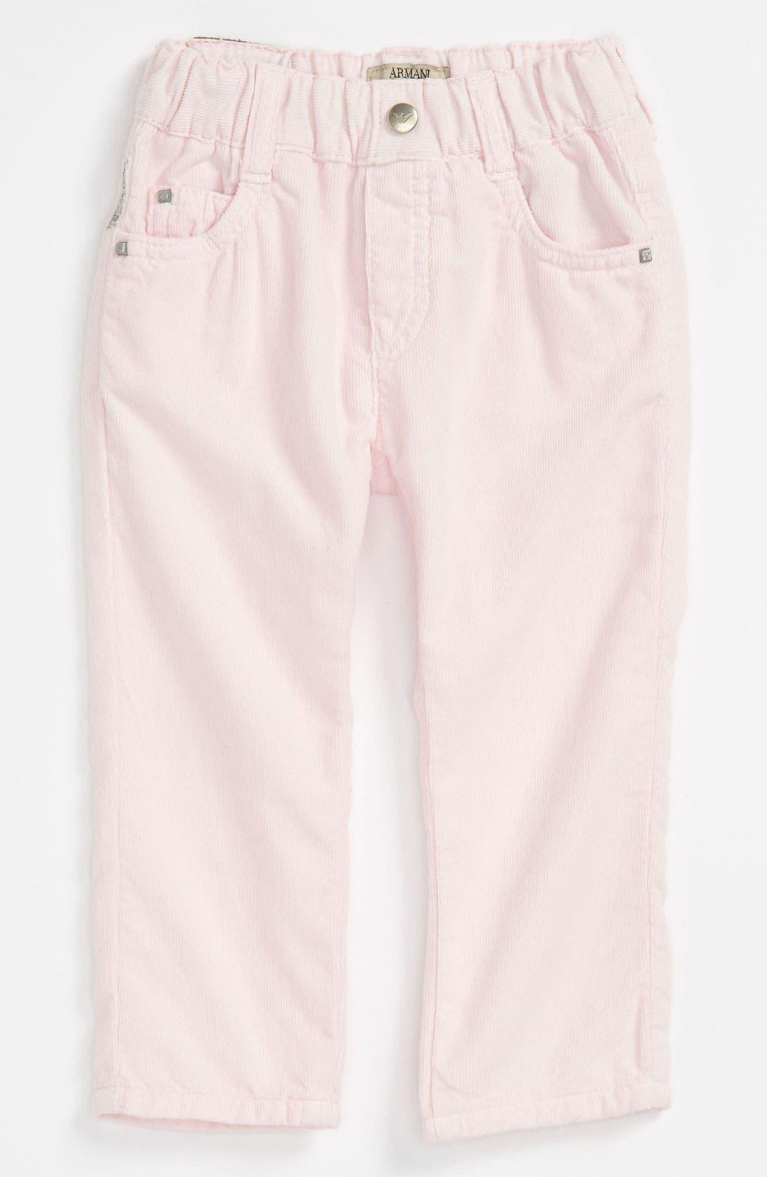 Alternate Image 2  - Armani Junior Corduroy Pants (Infant)