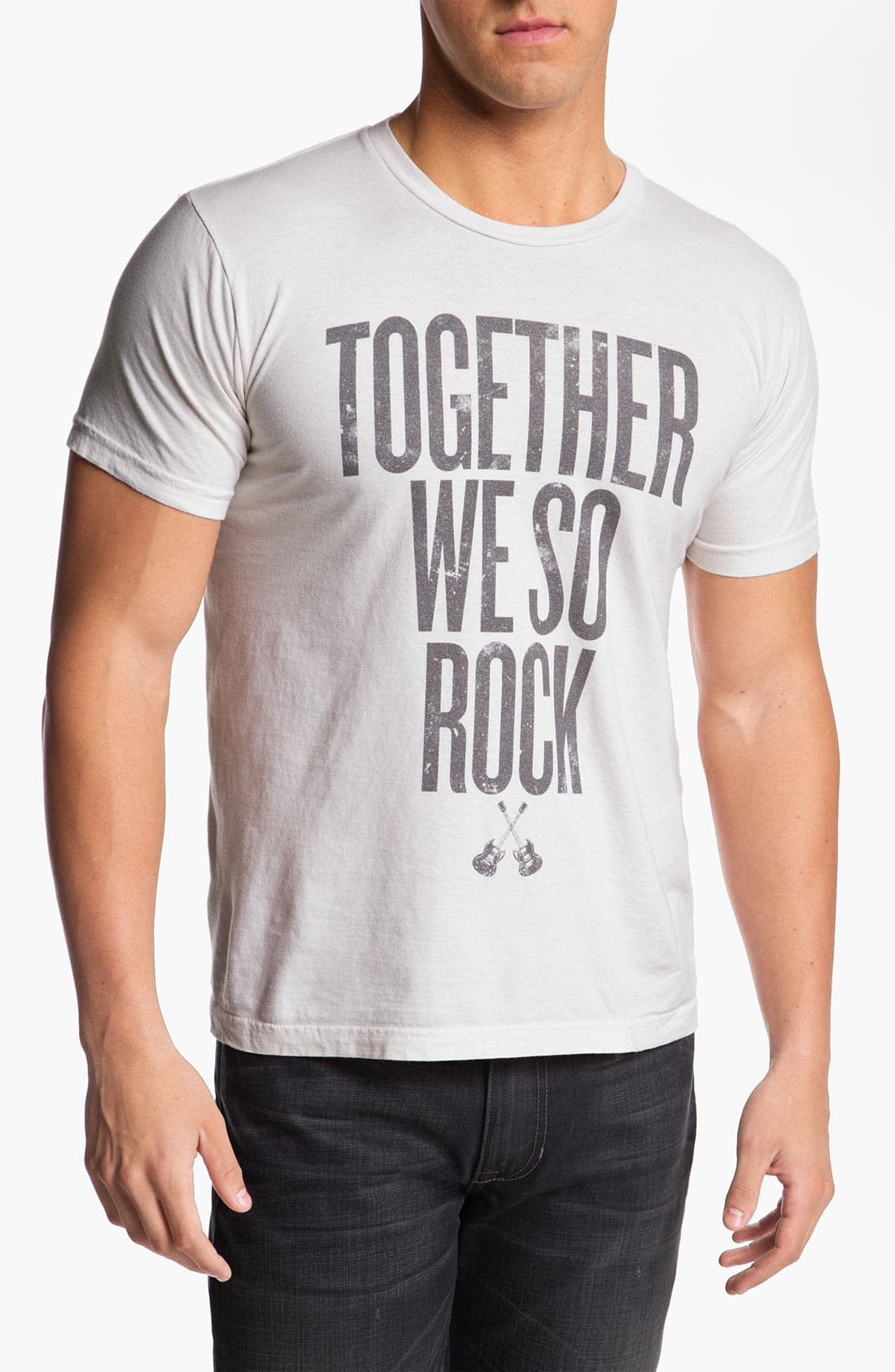 Alternate Image 1 Selected - The Poster List 'Together We So Rock' T-Shirt
