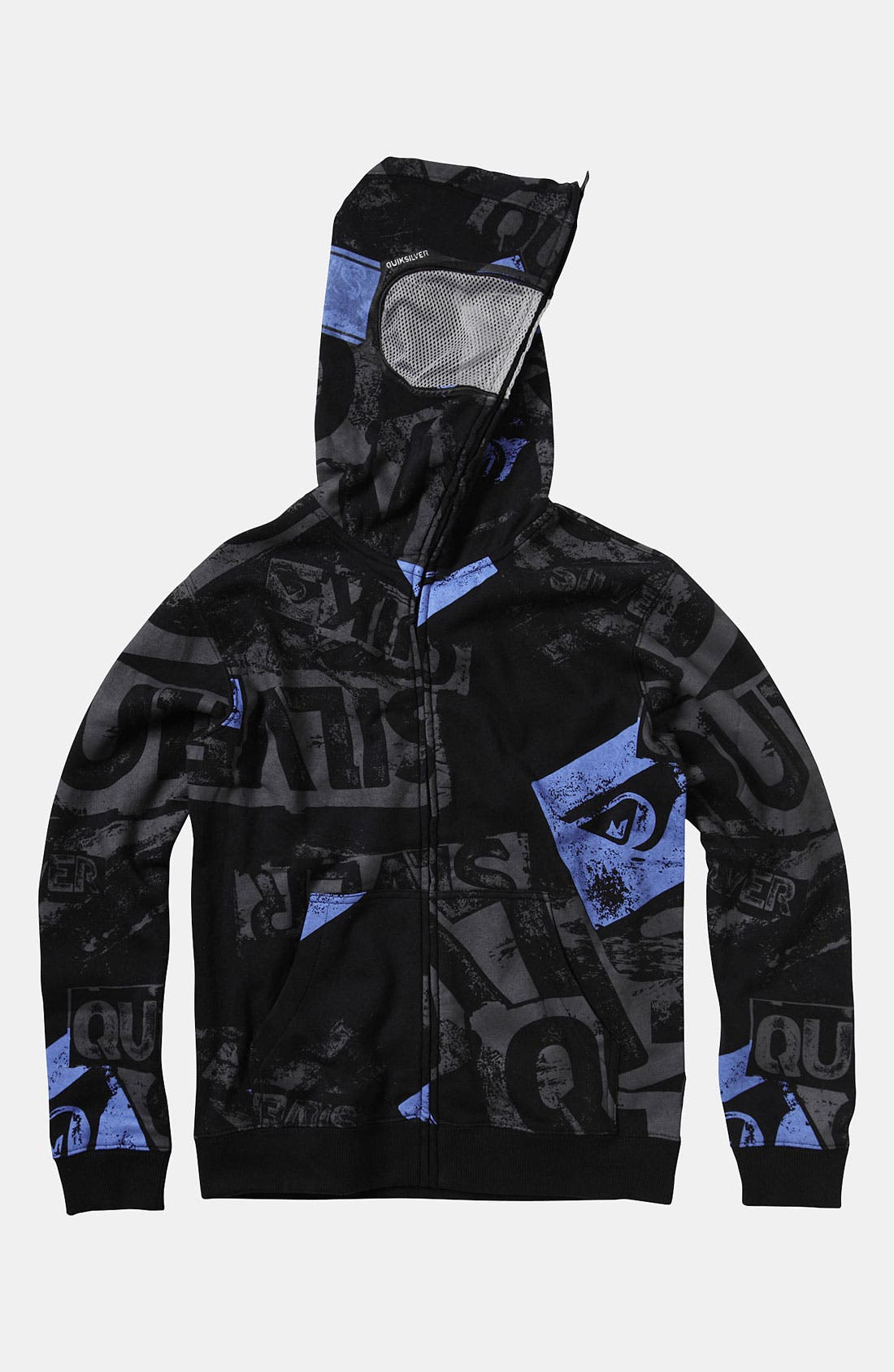 Alternate Image 3  - Quiksilver 'Sandy Goggles' Mask Hoodie (Little Boys)