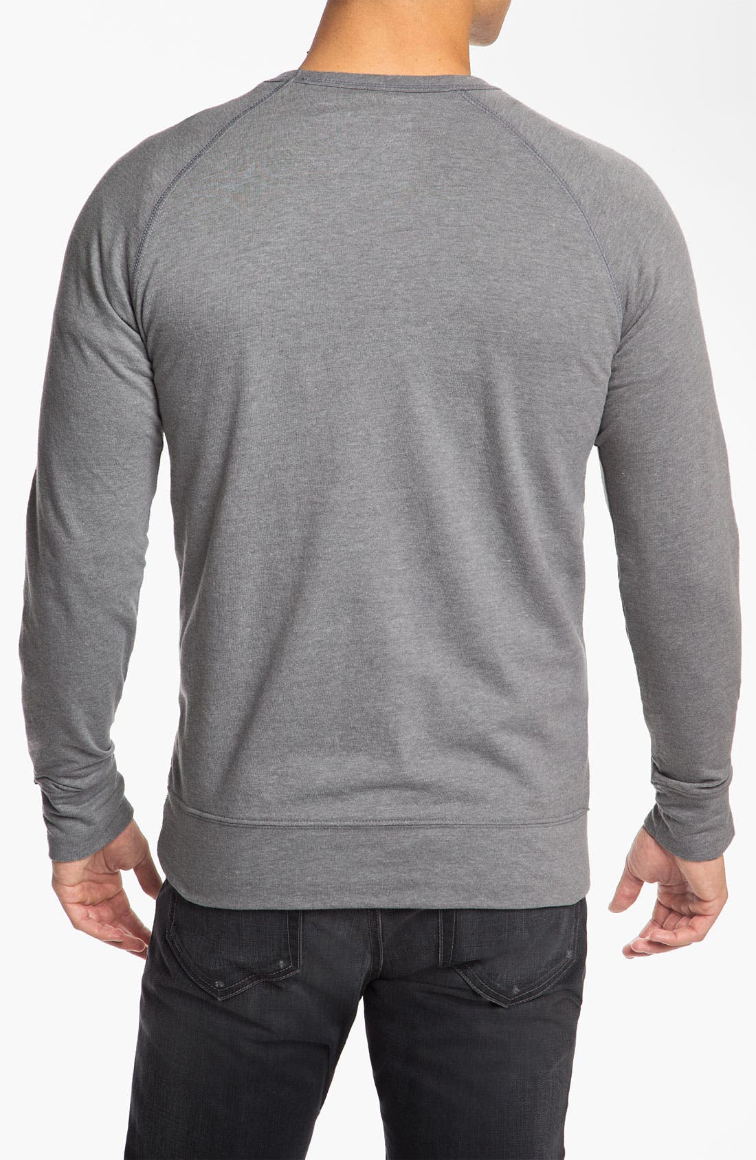 Alternate Image 2  - Hurley 'Broken' Graphic Crewneck Sweatshirt