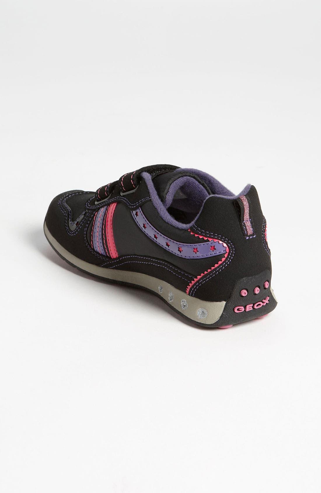 Alternate Image 2  - Geox 'Jocker Girl' Sneaker (Toddler & Little Kid)