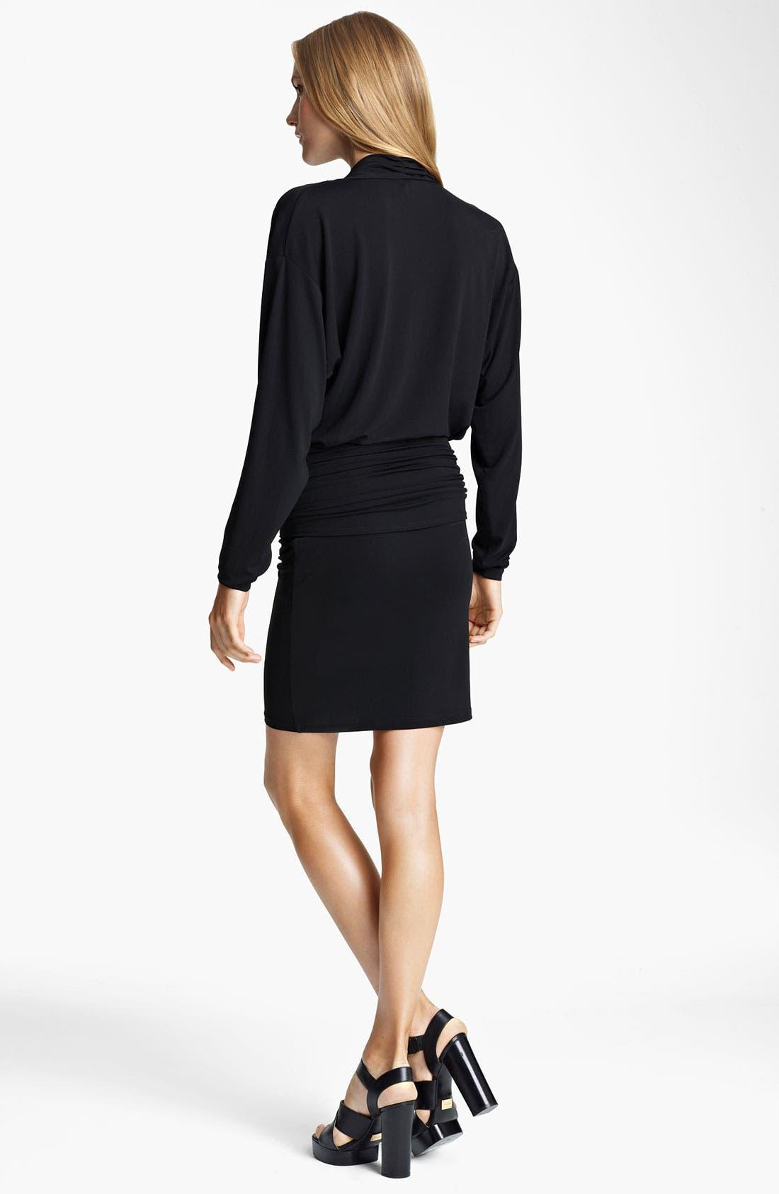 Alternate Image 2  - Michael Kors Cowl Neck Matte Jersey Dress