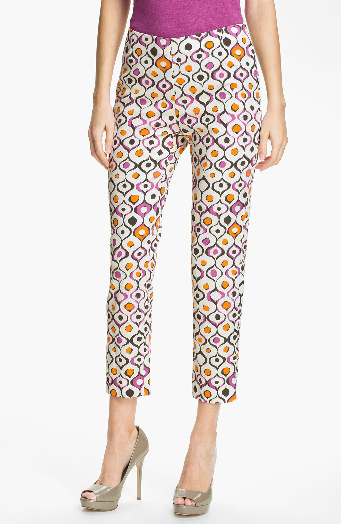 Alternate Image 1 Selected - Lafayette 148 New York 'Stanton - Indie Print' Pants