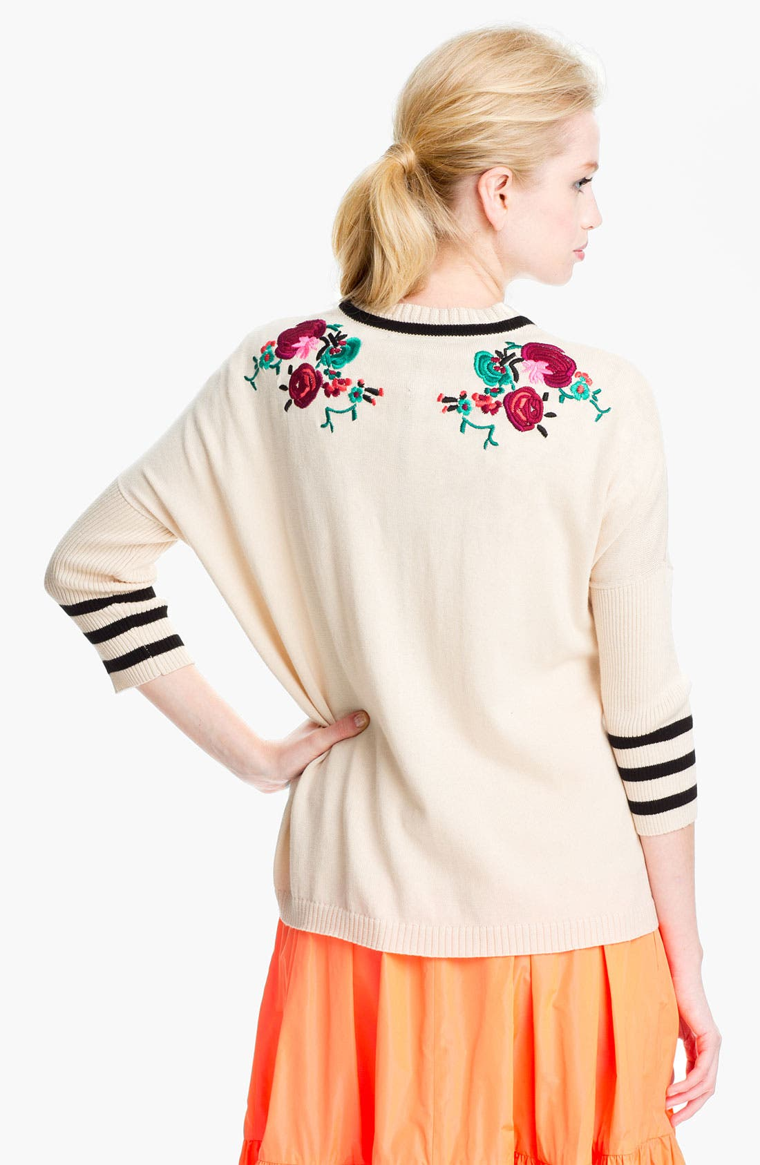 Alternate Image 2  - Nanette Lepore 'Tea Ceremony' Cardigan