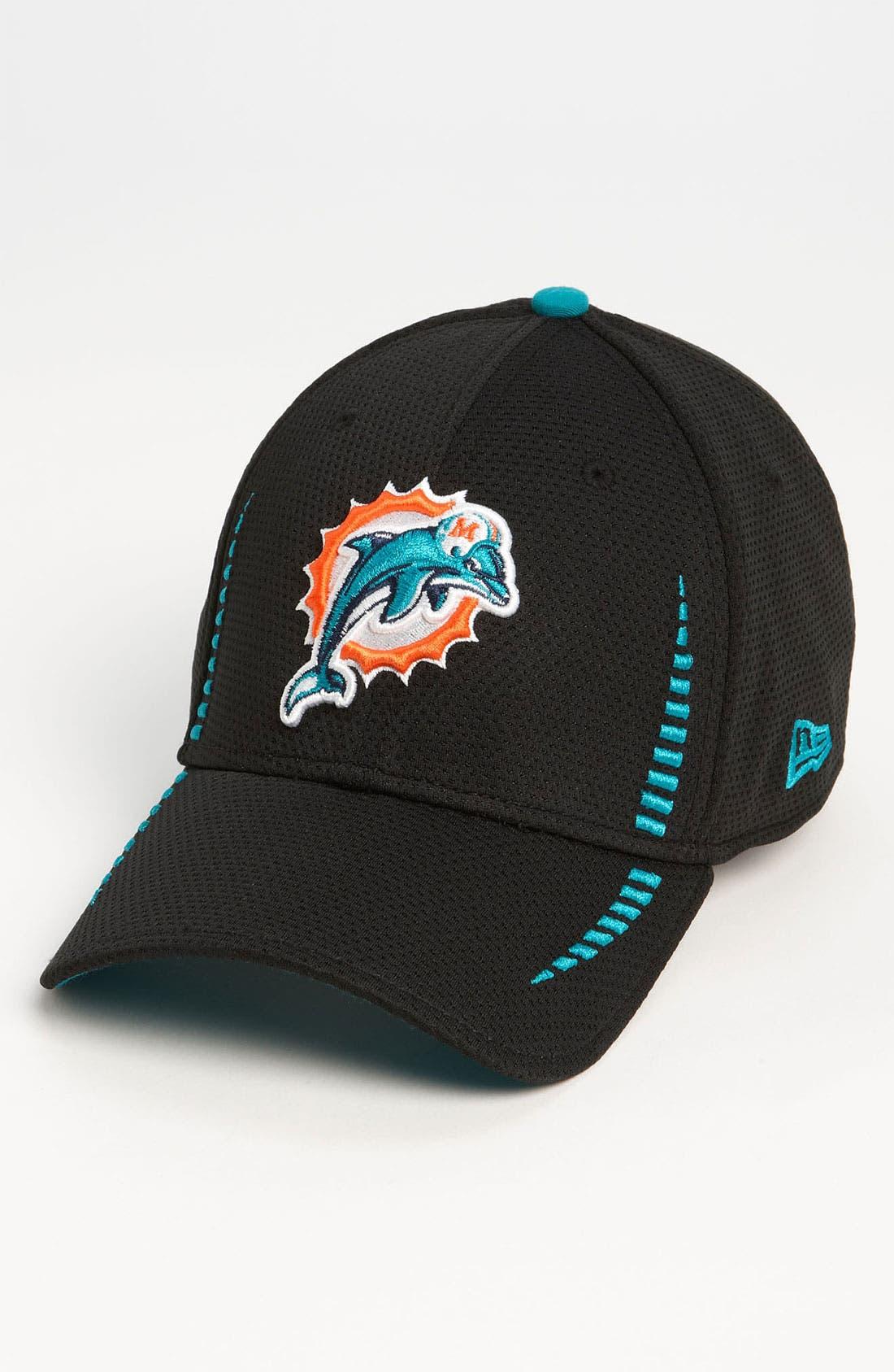 Main Image - New Era Cap 'Training Camp - Miami Dolphins' Baseball Cap