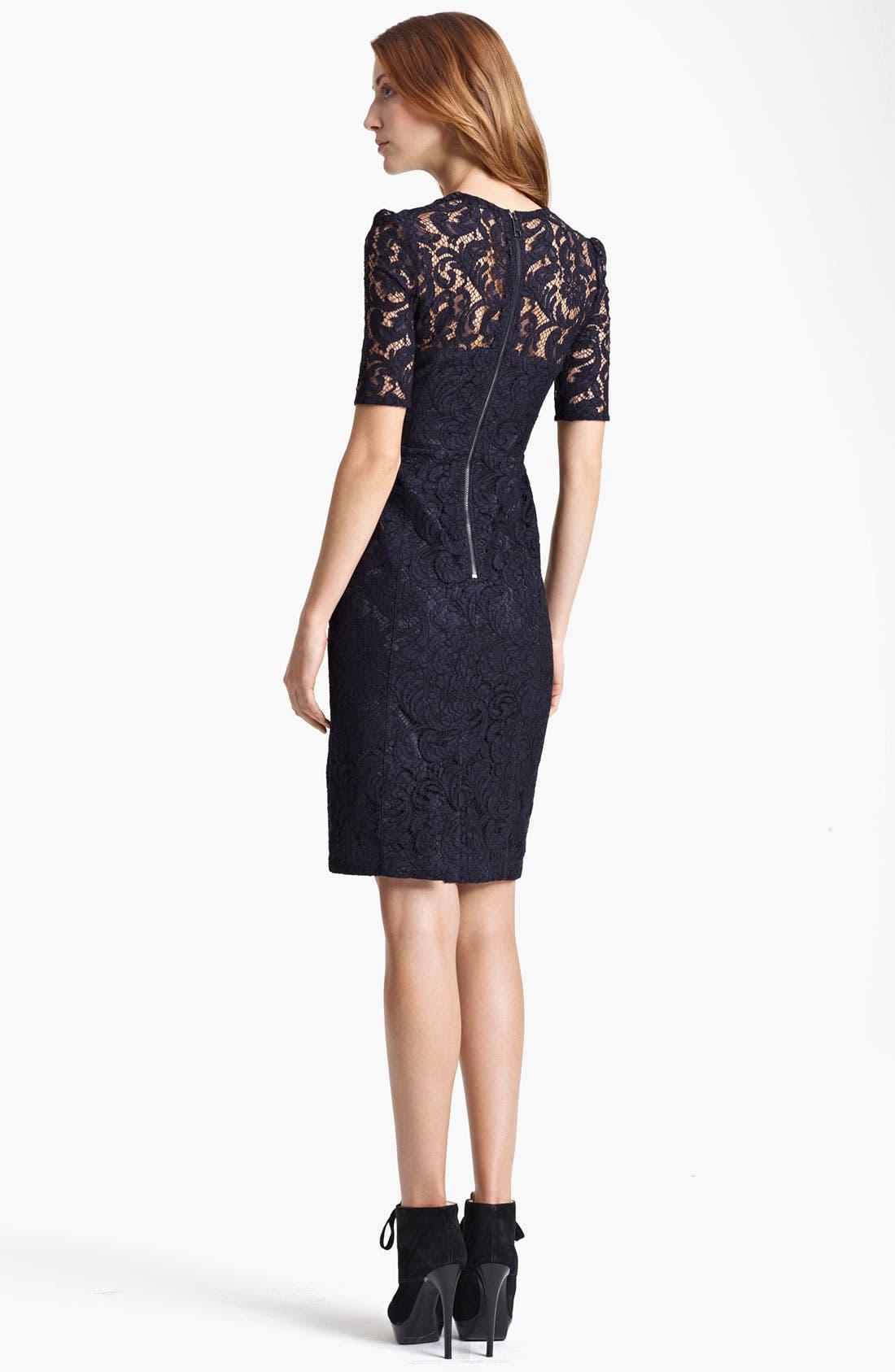 Alternate Image 3  - Burberry London Lace Dress