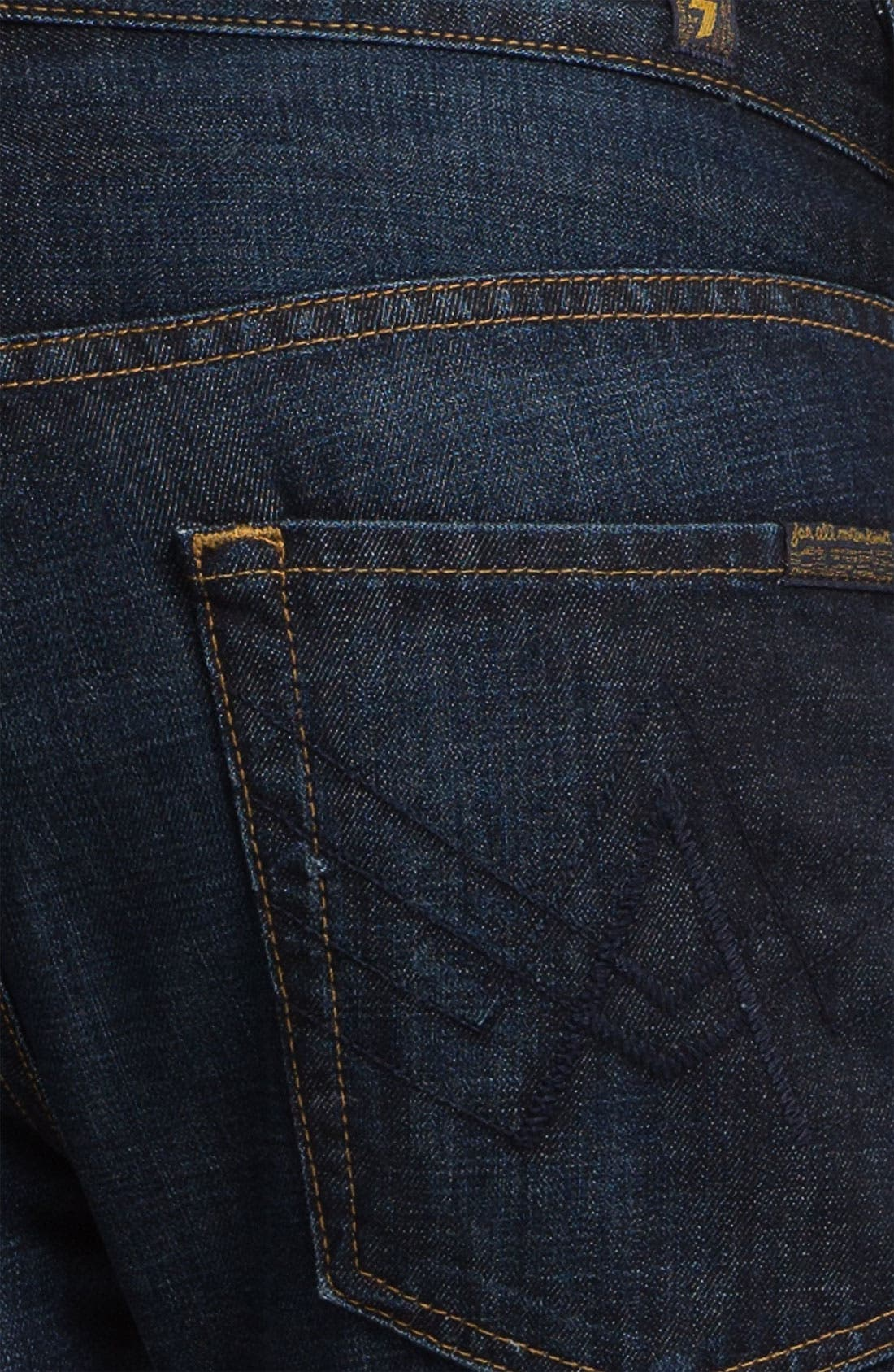 Alternate Image 4  - 7 For All Mankind® 'Brett' Bootcut Jeans (Hollenbeck)