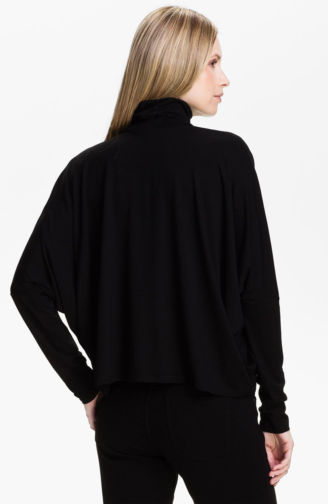 Alternate Image 2  - Eileen Fisher Scrunch Neck Boxy Top (Online Exclusive)