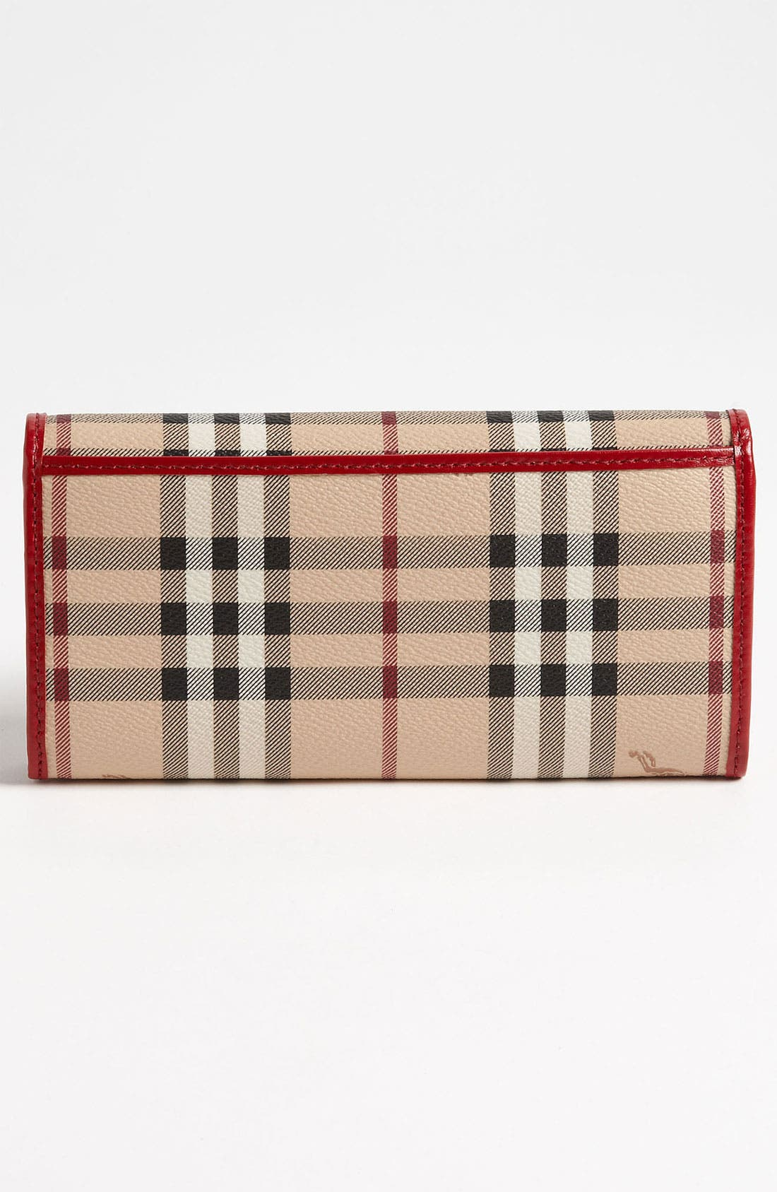 Alternate Image 3  - Burberry 'Haymarket Check' Flap Wallet