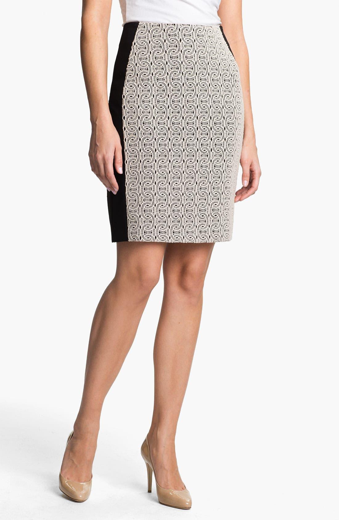 Main Image - Diane von Furstenberg 'Mahalia' Lace Skirt