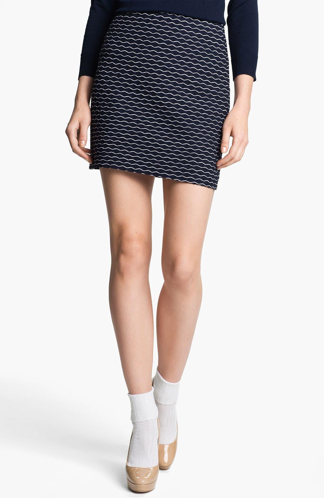 Main Image - Milly 'Stella' Stretch Miniskirt