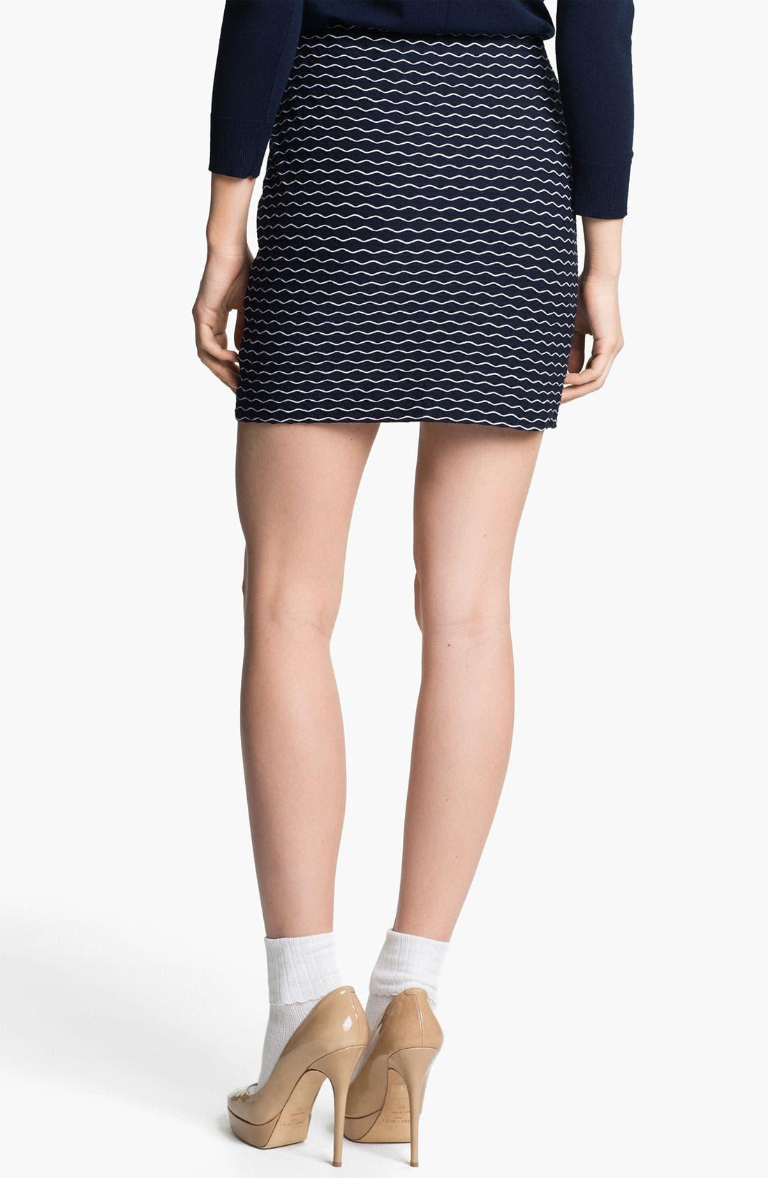 Alternate Image 2  - Milly 'Stella' Stretch Miniskirt
