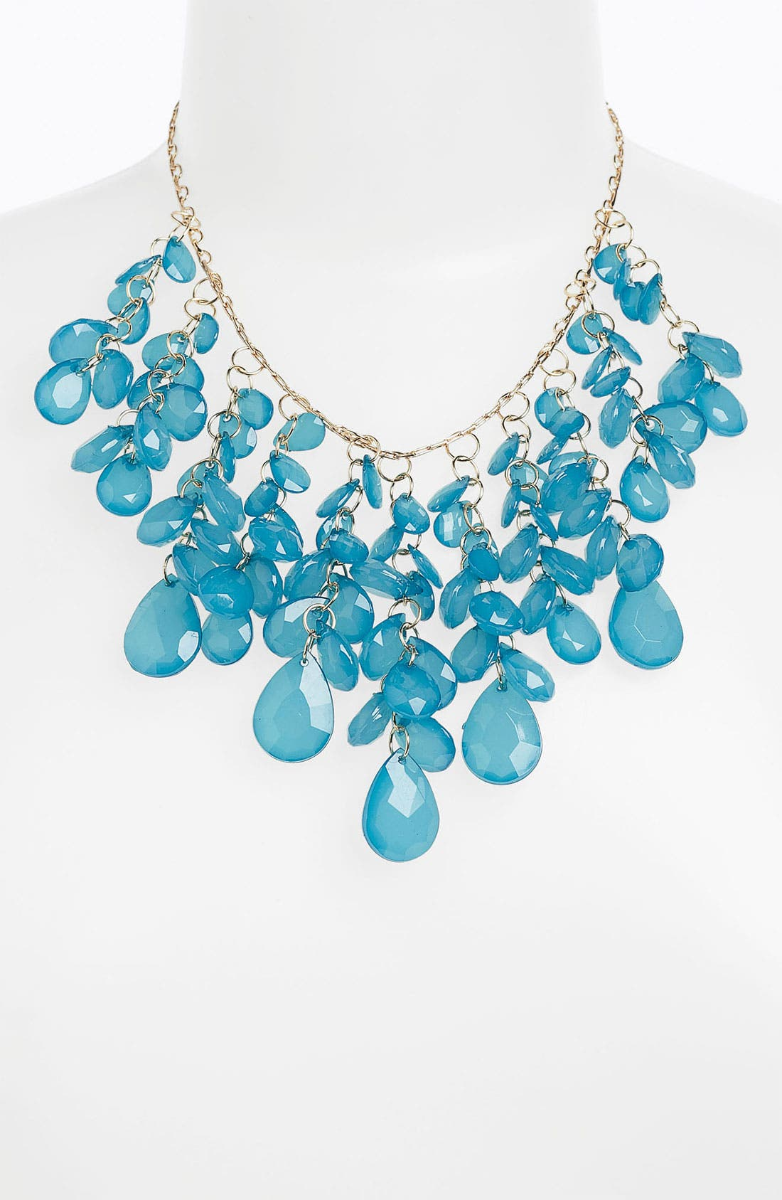 Main Image - Stephan & Co. Teardrop Cluster Statement Necklace