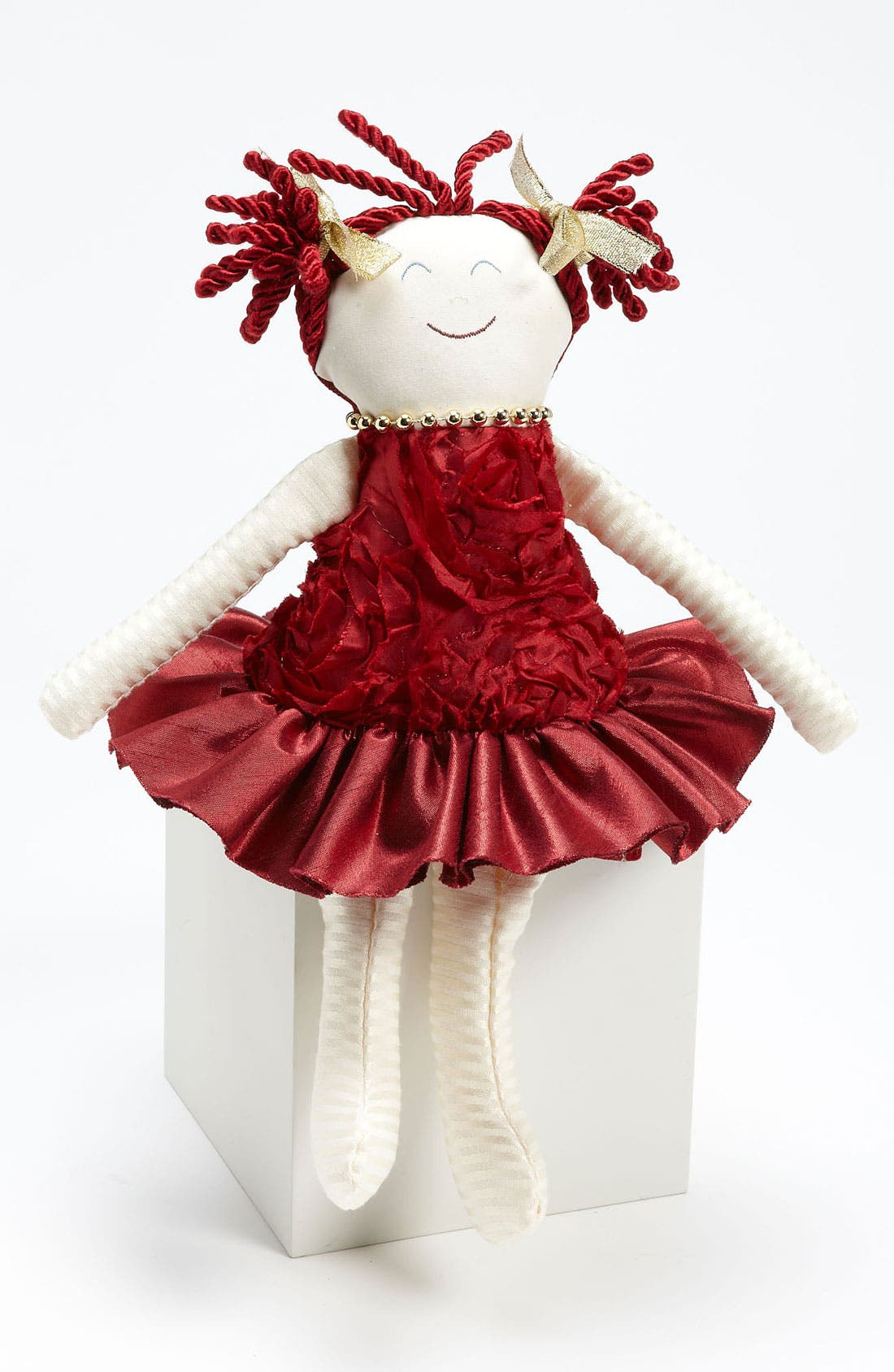 Alternate Image 1 Selected - Woof & Poof 'Red Rose Party Girl' Decoration