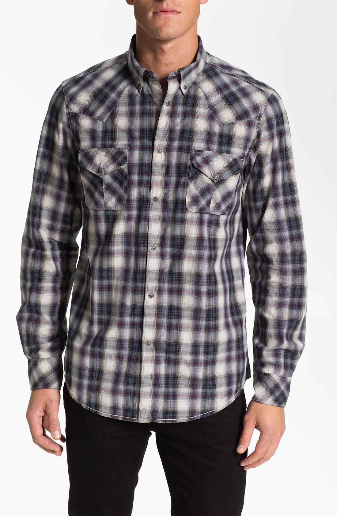 Alternate Image 1 Selected - Ben Sherman 'Clerkenwell' Plaid Woven Shirt