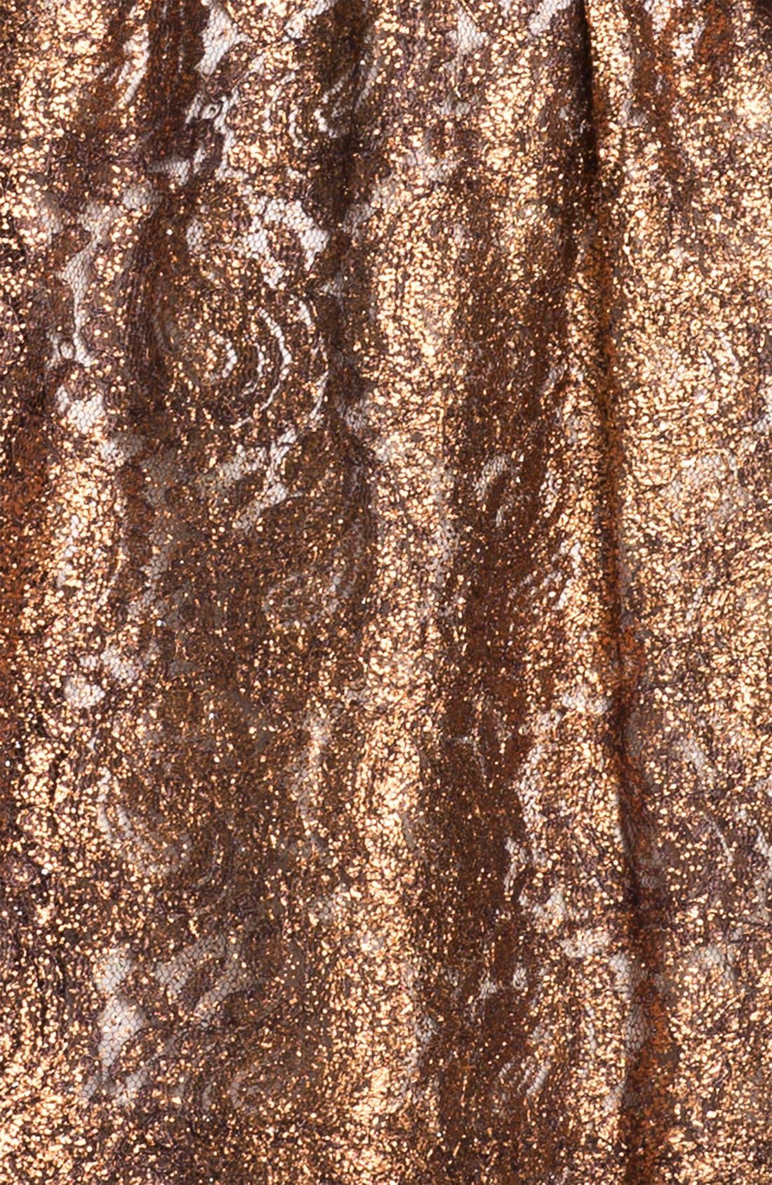 Alternate Image 3  - Kensie Foil Lace Dress (Online Exclusive)