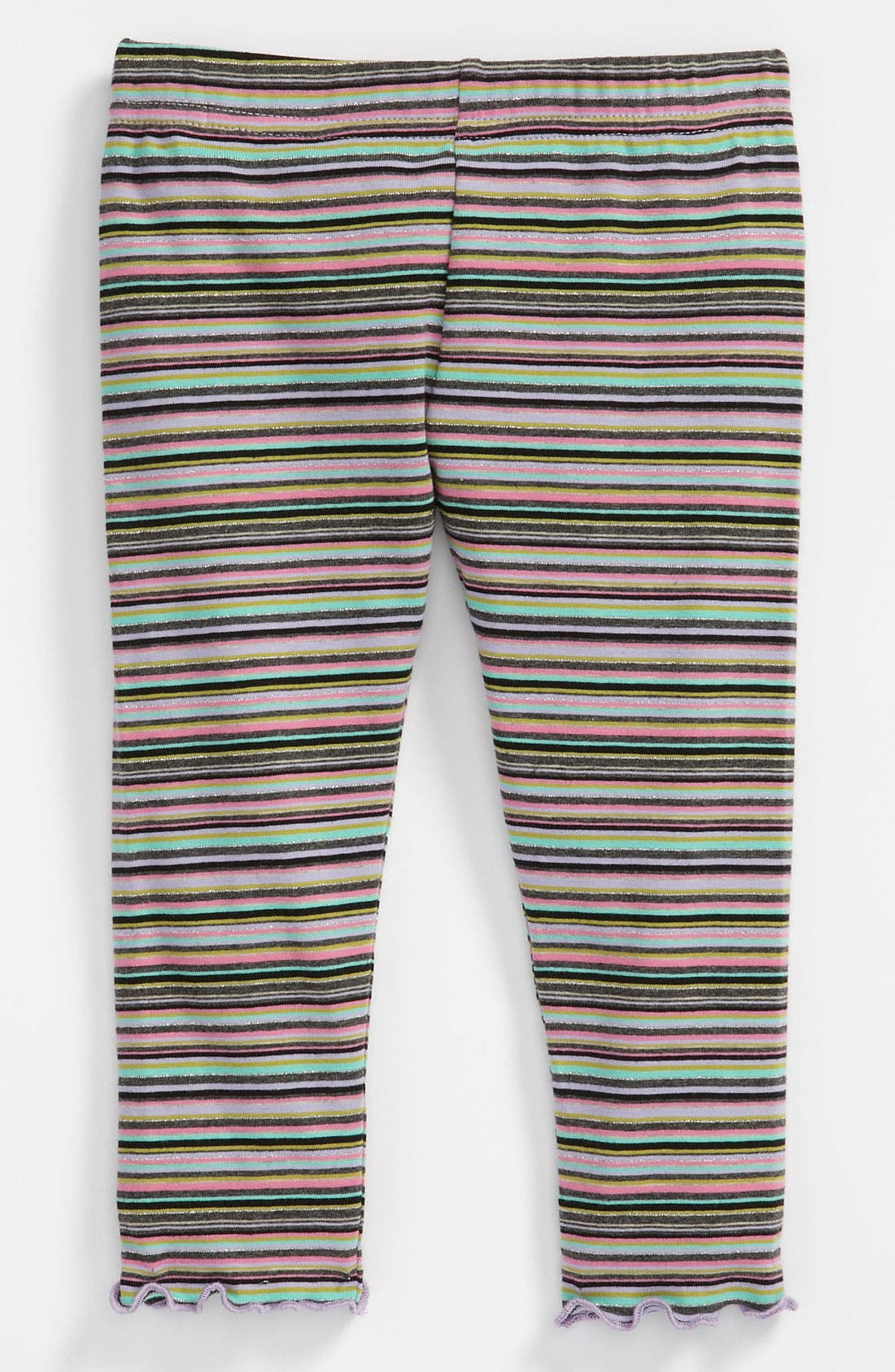 Main Image - Love U Lots Stripe Leggings (Toddler)
