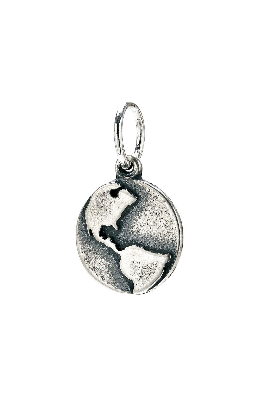 Main Image - Dogeared 'Create - Mother Earth' Globe Charm