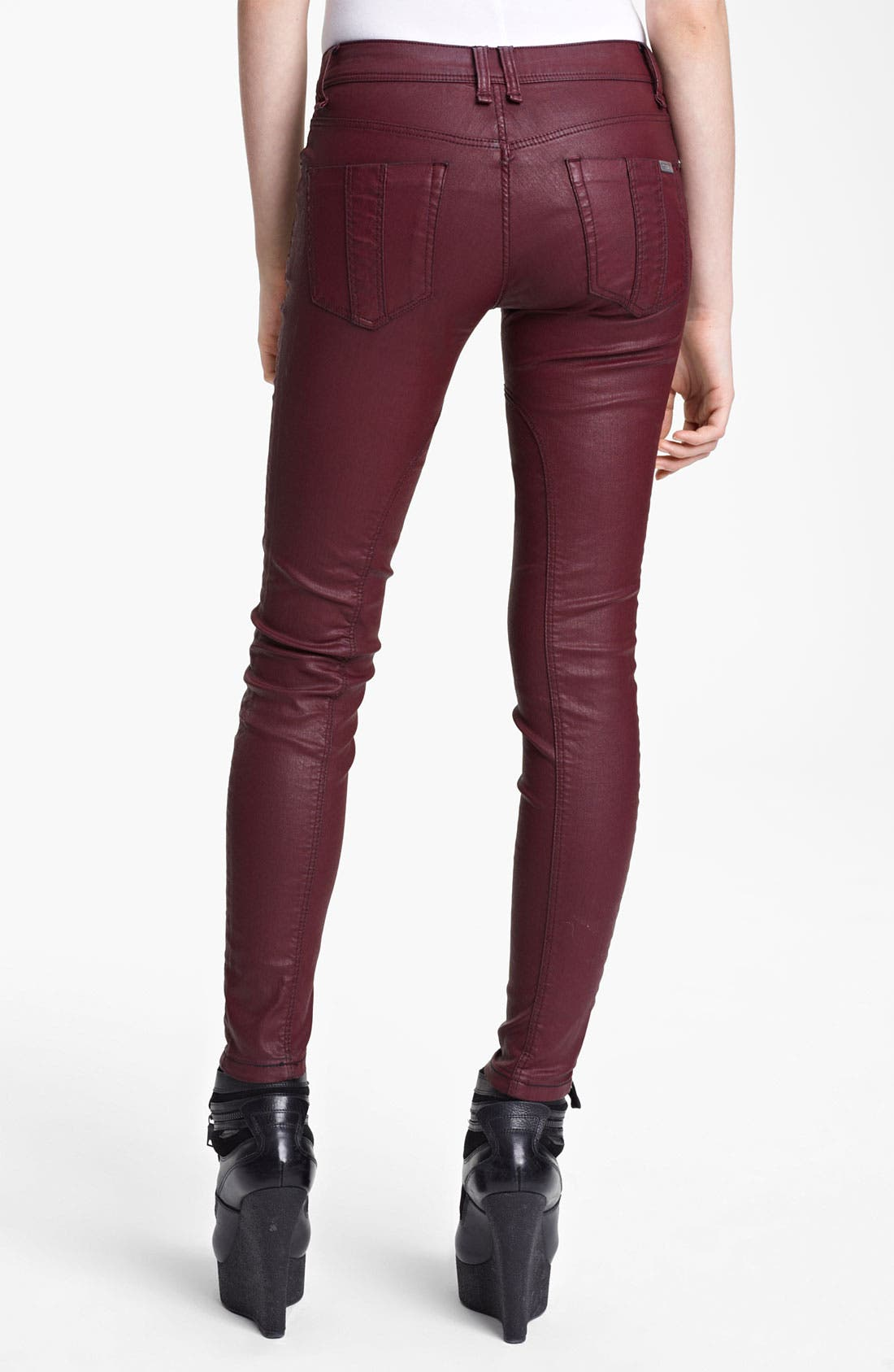 Alternate Image 2  - Burberry Brit Skinny Leg Pants