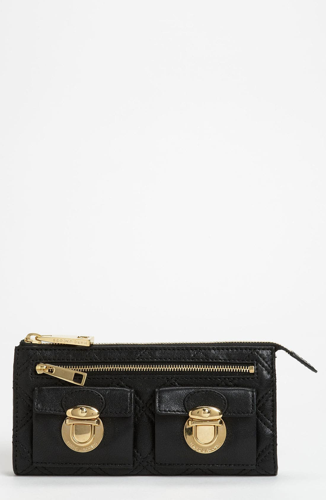 Alternate Image 1 Selected - MARC JACOBS Zip Clutch Wallet