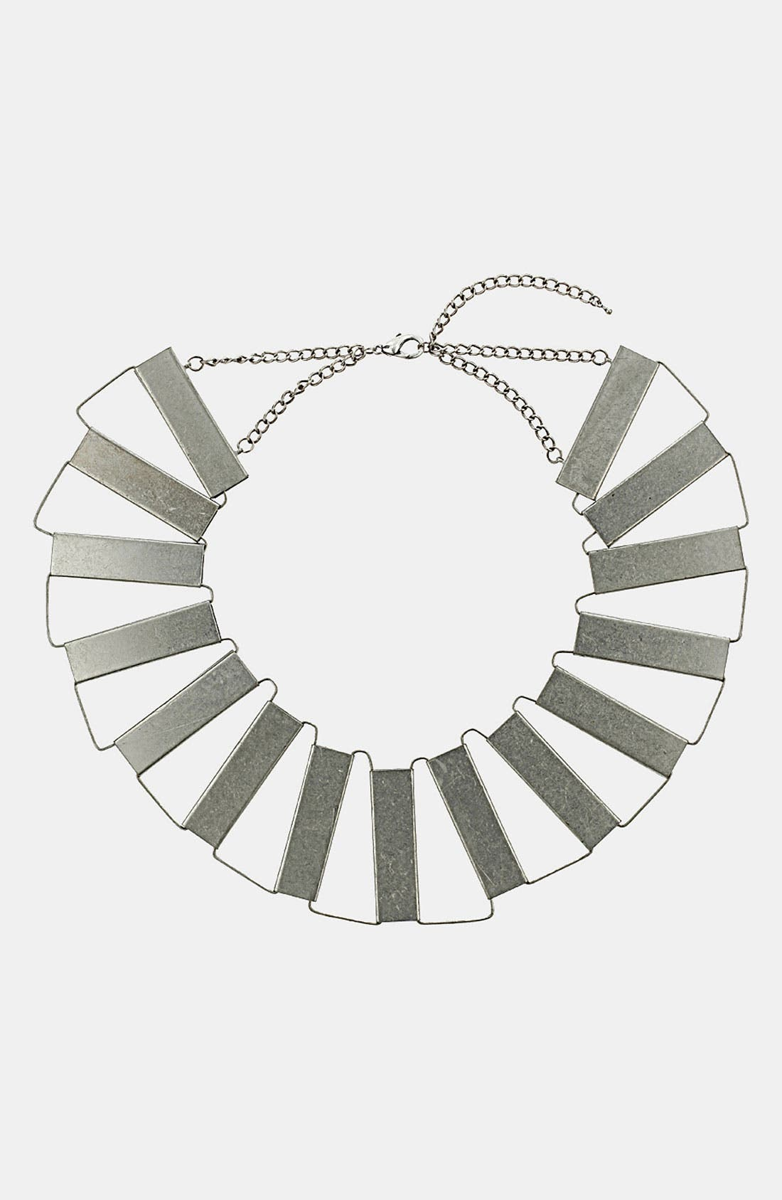 Alternate Image 1 Selected - Topshop Linked Section Collar Necklace