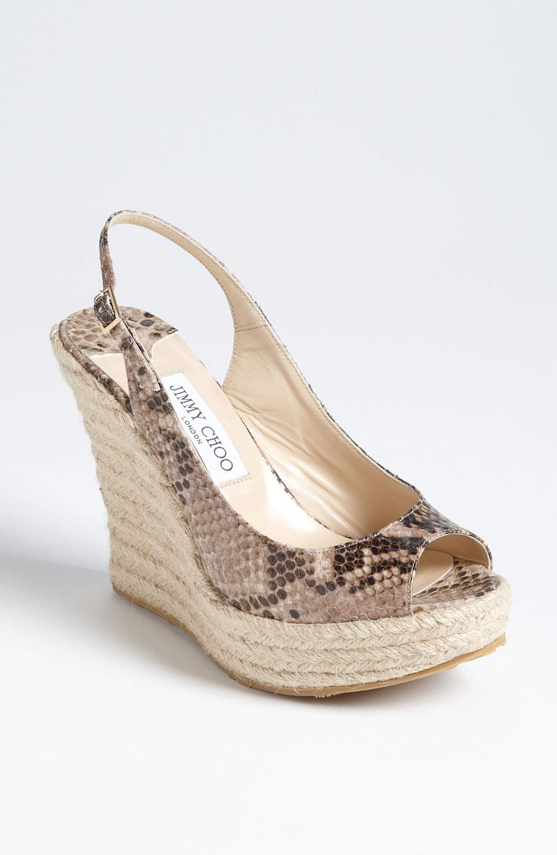 Main Image - Jimmy Choo 'Polar' Wedge Sandal