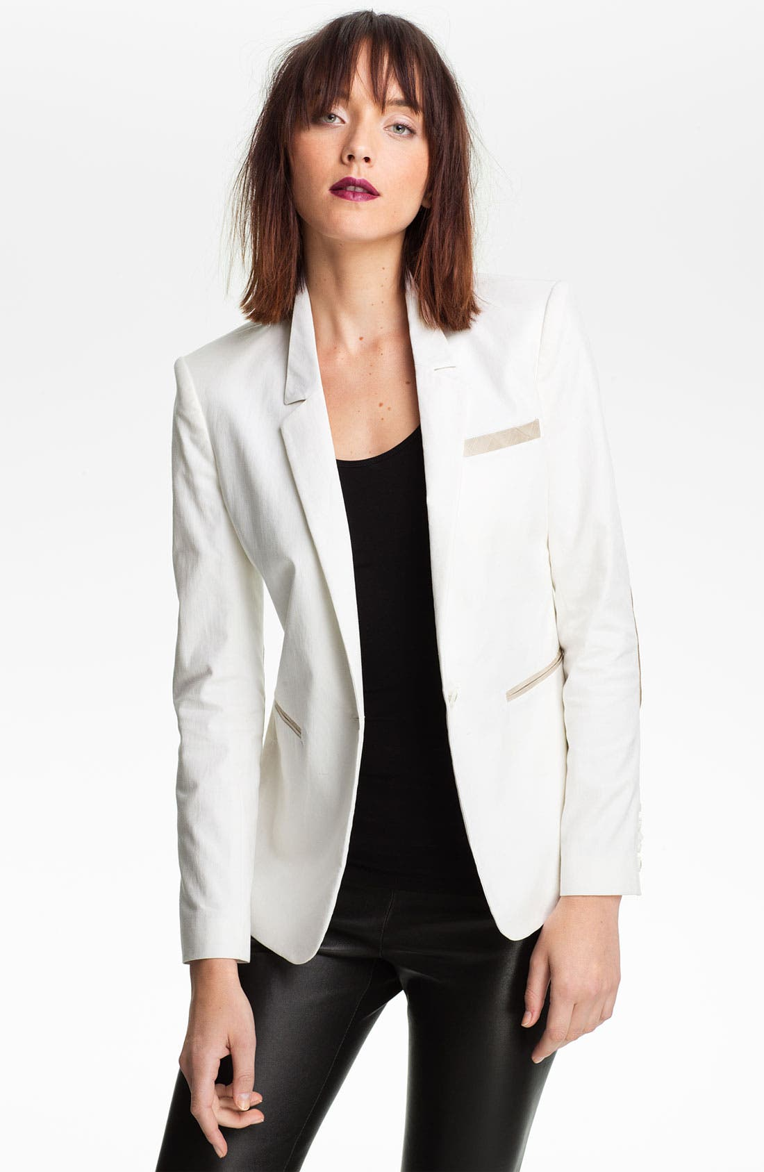 Main Image - Elizabeth and James 'Sienna' Elbow Patch Blazer